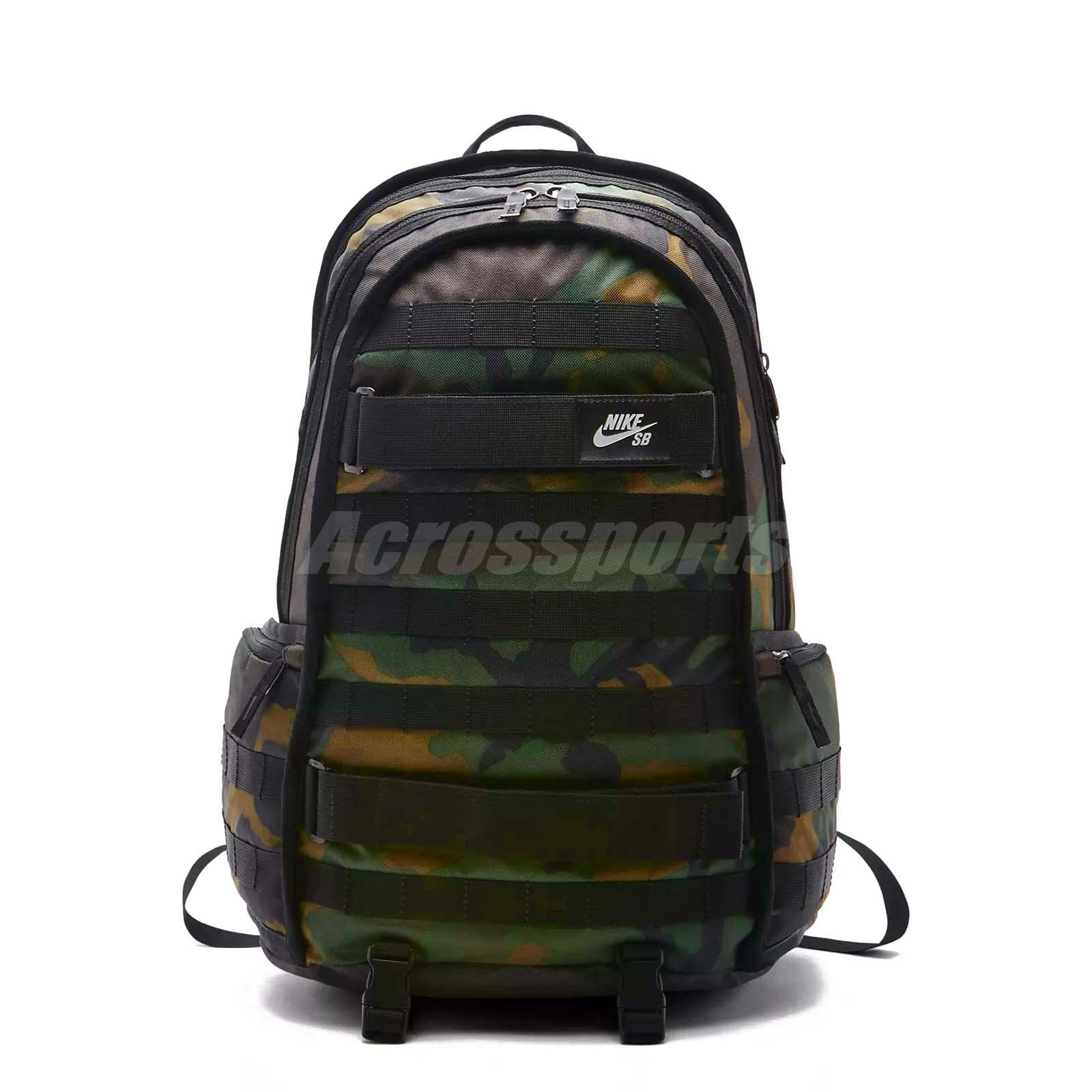 Details about Nike SB RPM Graphic Camo Skateboarding Backpack Sports Training Bag BA5404 223