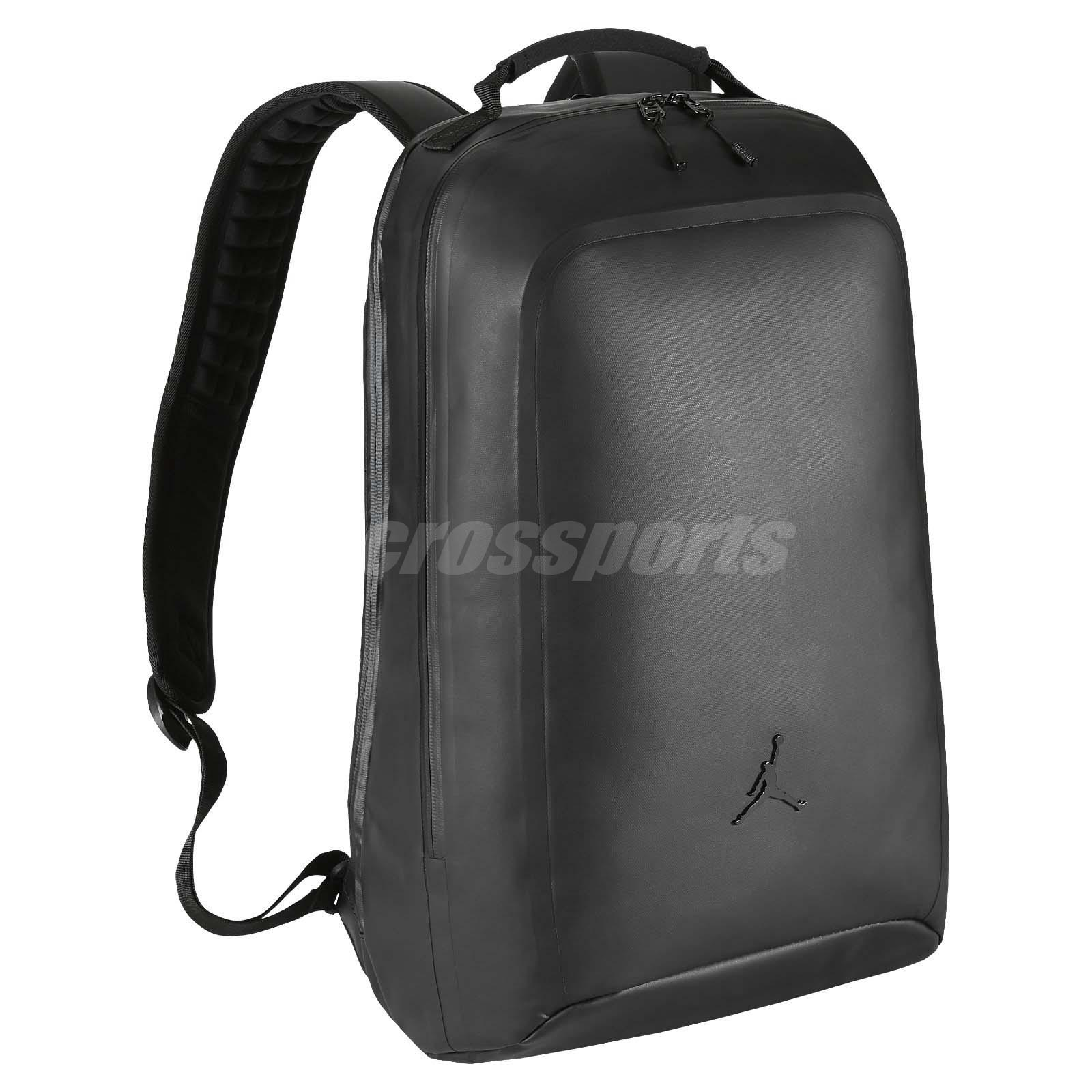 Nike Jordan Backpack Shield Black Laptop Sleeve Water-Resistant BA5407-010 e6906a67c579a