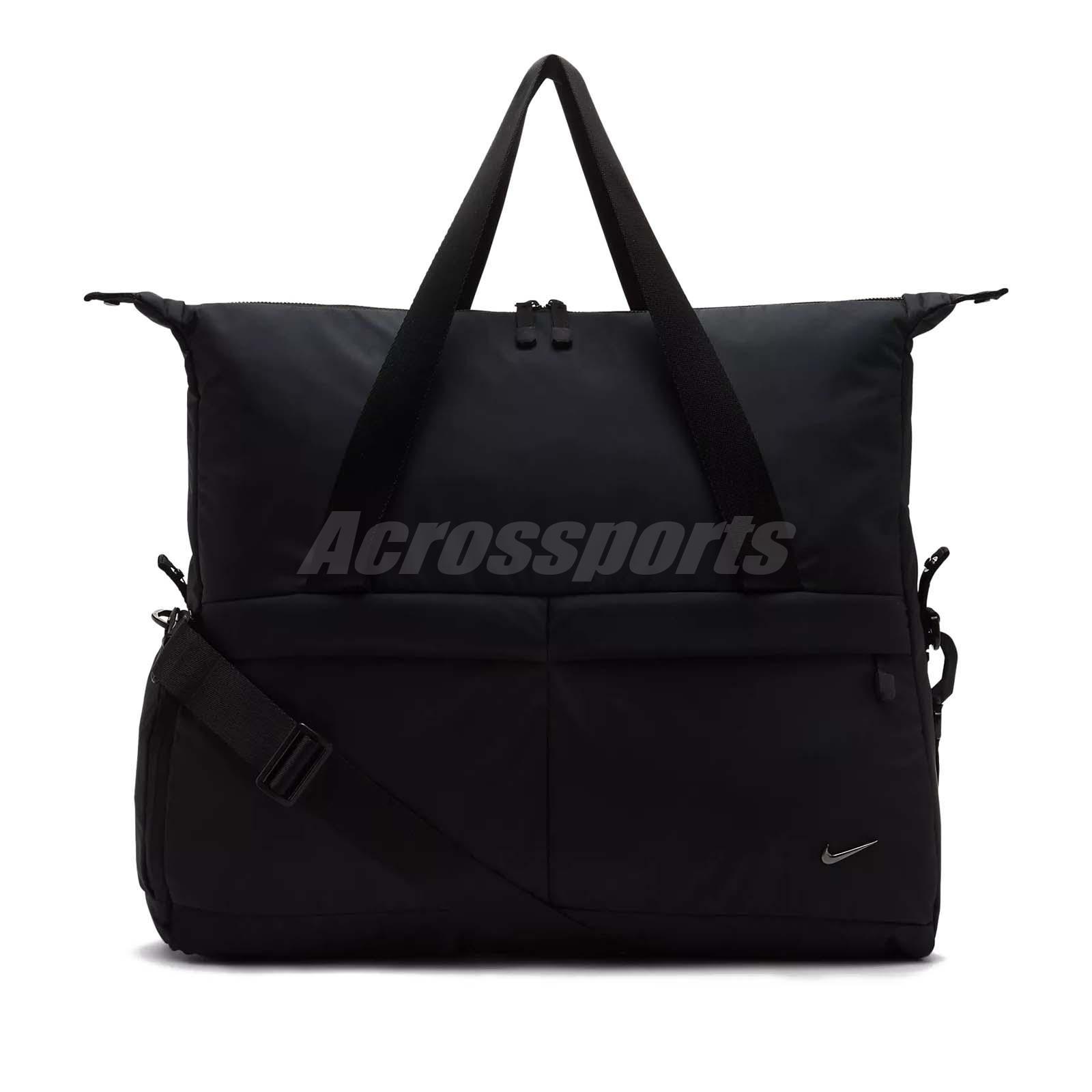 becfc6a90868 Details about Nike Women Club Training Bag Tote Shoulder Bag Yoga Gym  Sports Black BA5441-010