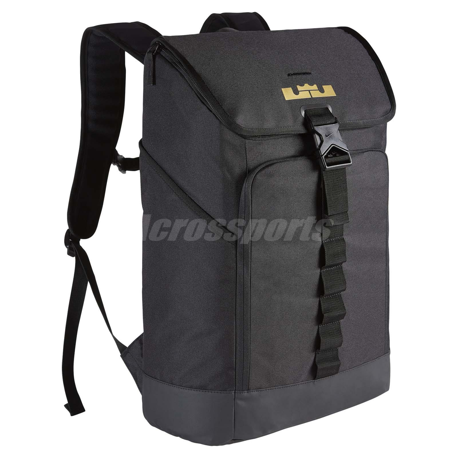 Nike LeBron Max Air Ambassador Backpack Hoops Training Bag James 23  BA5447-011 68848a7f03