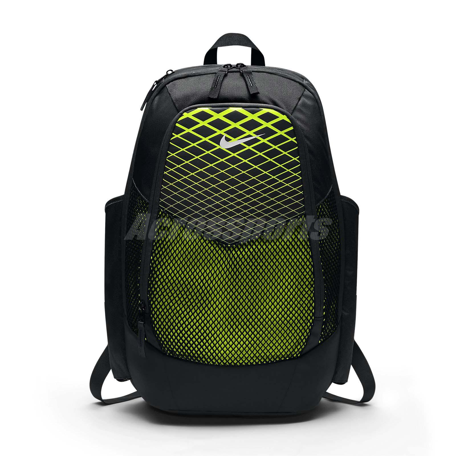 Nike Vapor Power Backpack Max Air Volt Black Sports Training Gym Bag  BA5479-010 f70e9ff848c26
