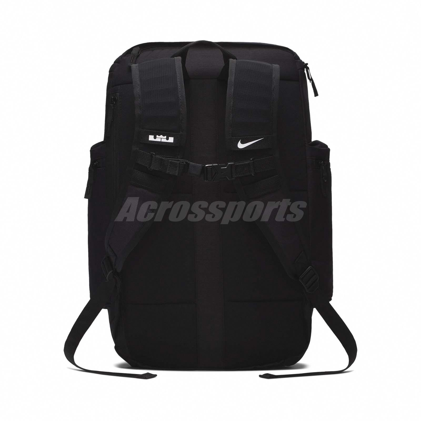 Details about Nike LeBron James Backpack Basketball Bag Max Air Training Gym  Black BA5563-010 6a18eaa28a