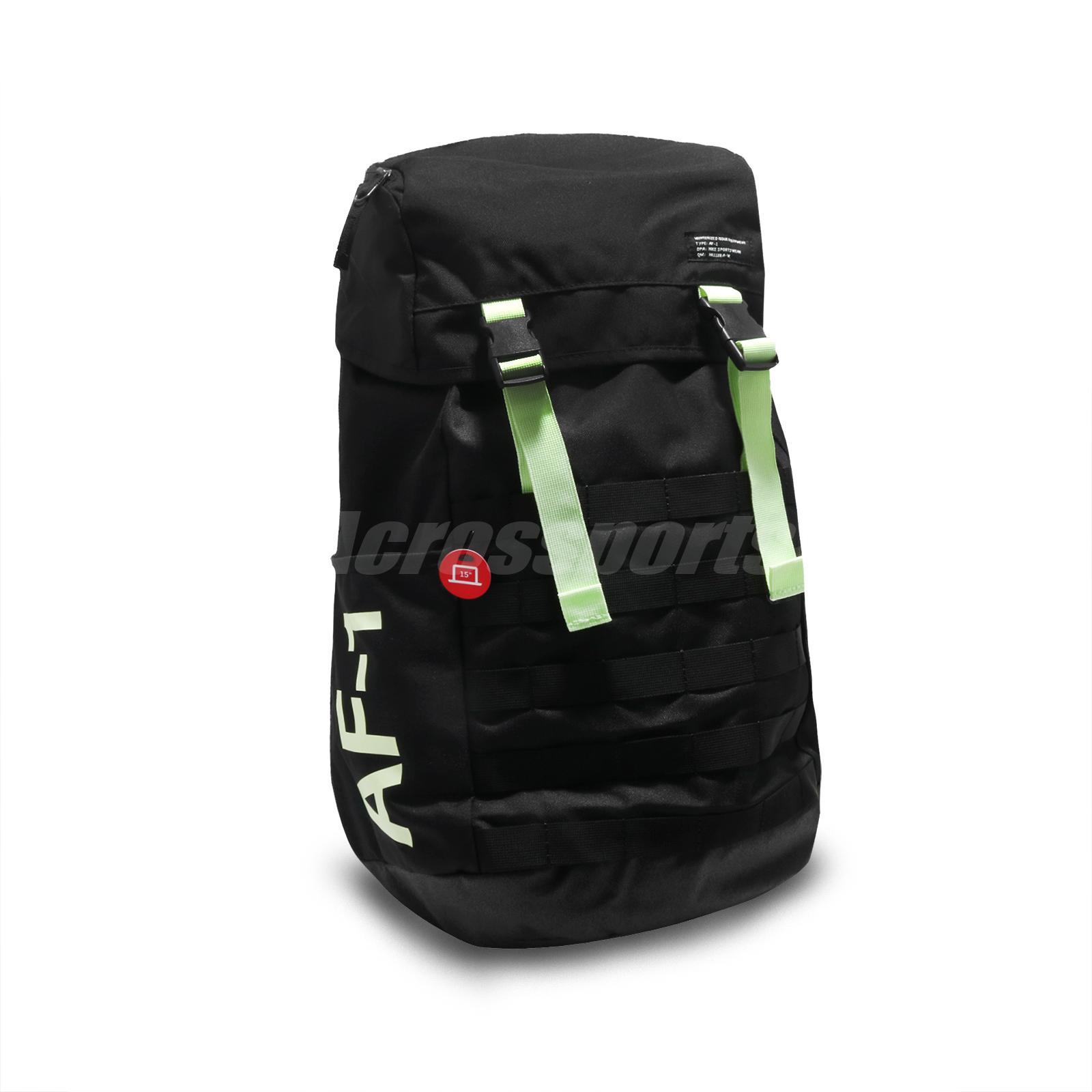 Nike NSW AF1 Backpack Air Force 1 Black