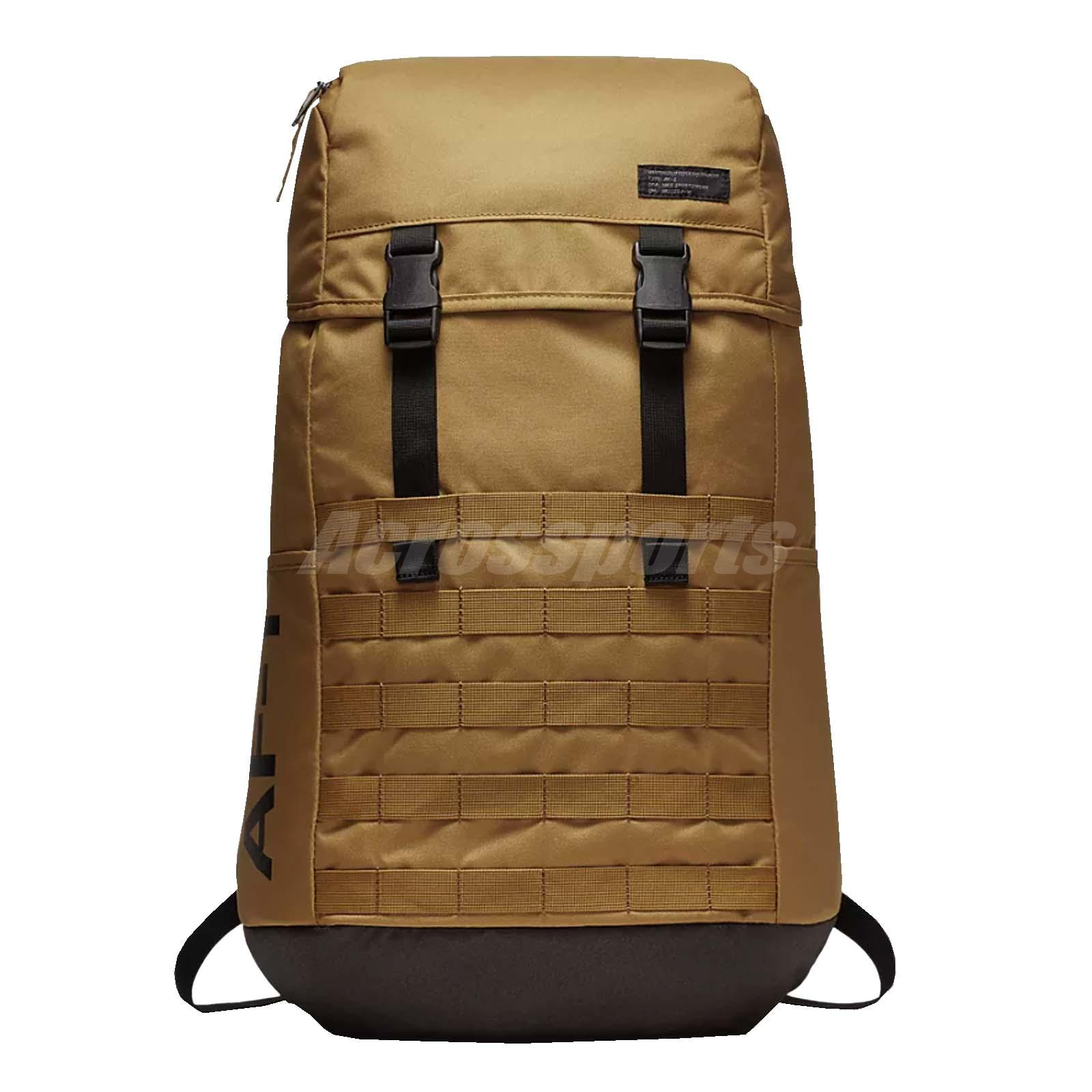 Details about Nike Unisex Sportswear AF1 Backpack AF-1 Bag Laptop Muted  Bronz Gym BA5731-255