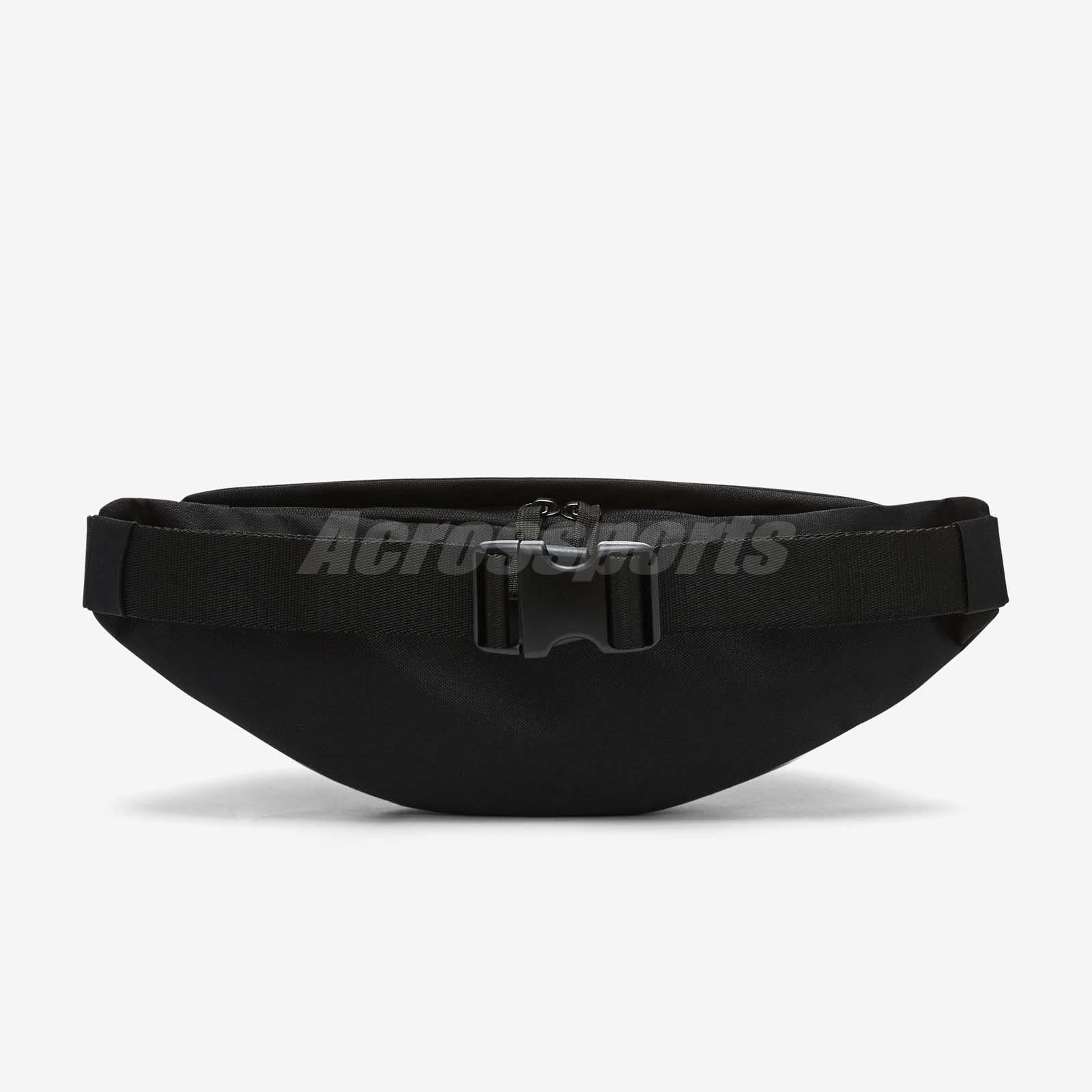 9de2aa2eed Nike Unisex Sportswear Heritage Hip Pack Black White Fanny Waist ...