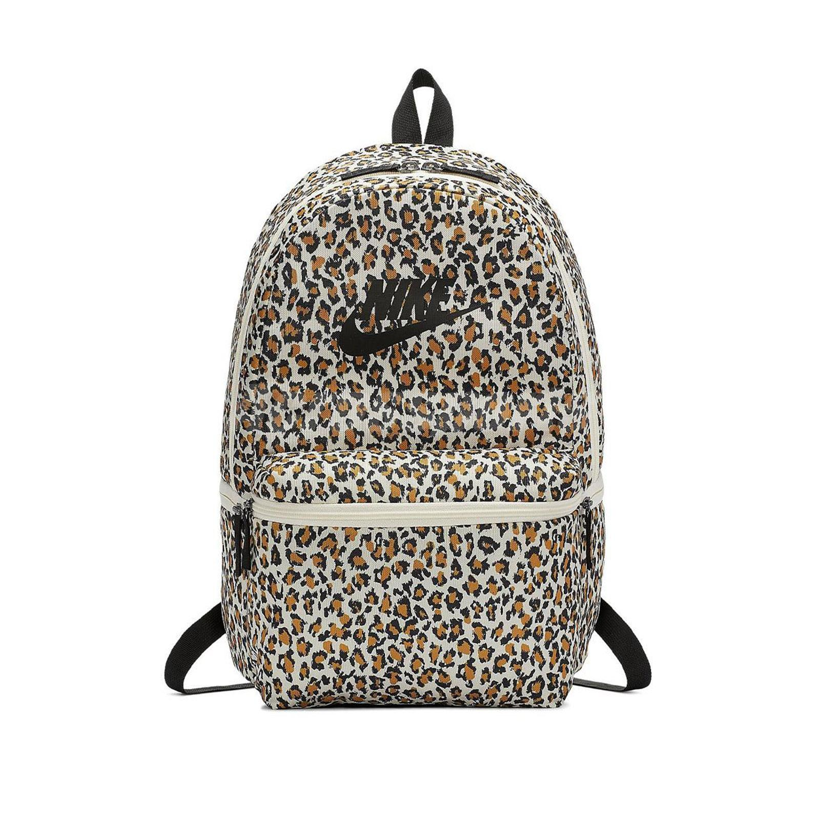 Details about Nike NSW Sportswear Heritage Leopard Print White Backpack Bag Bookbag BA5761 110