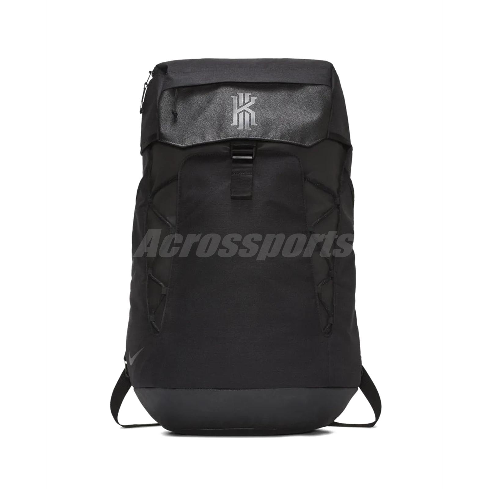 79224d72e721 Nike Kyrie Irving Backpack Bookbag Daypack Black Basketball Bag 37L  BA5788-010