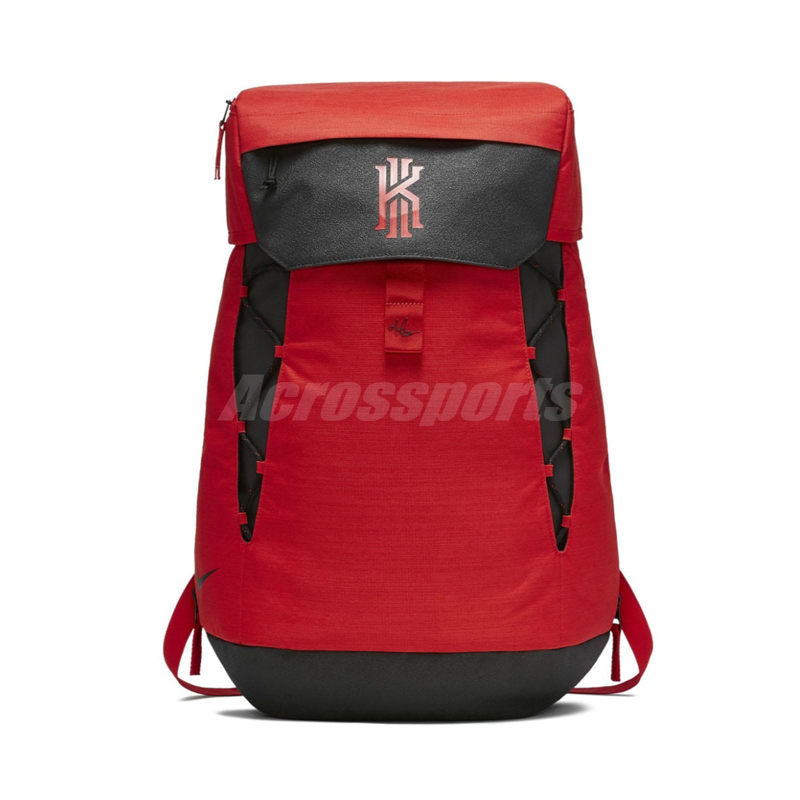 huge selection of ea2d0 14d60 Nike Kyrie Irving Elite Backpack Daypack Red Basketball Bag 37L BA5788-657