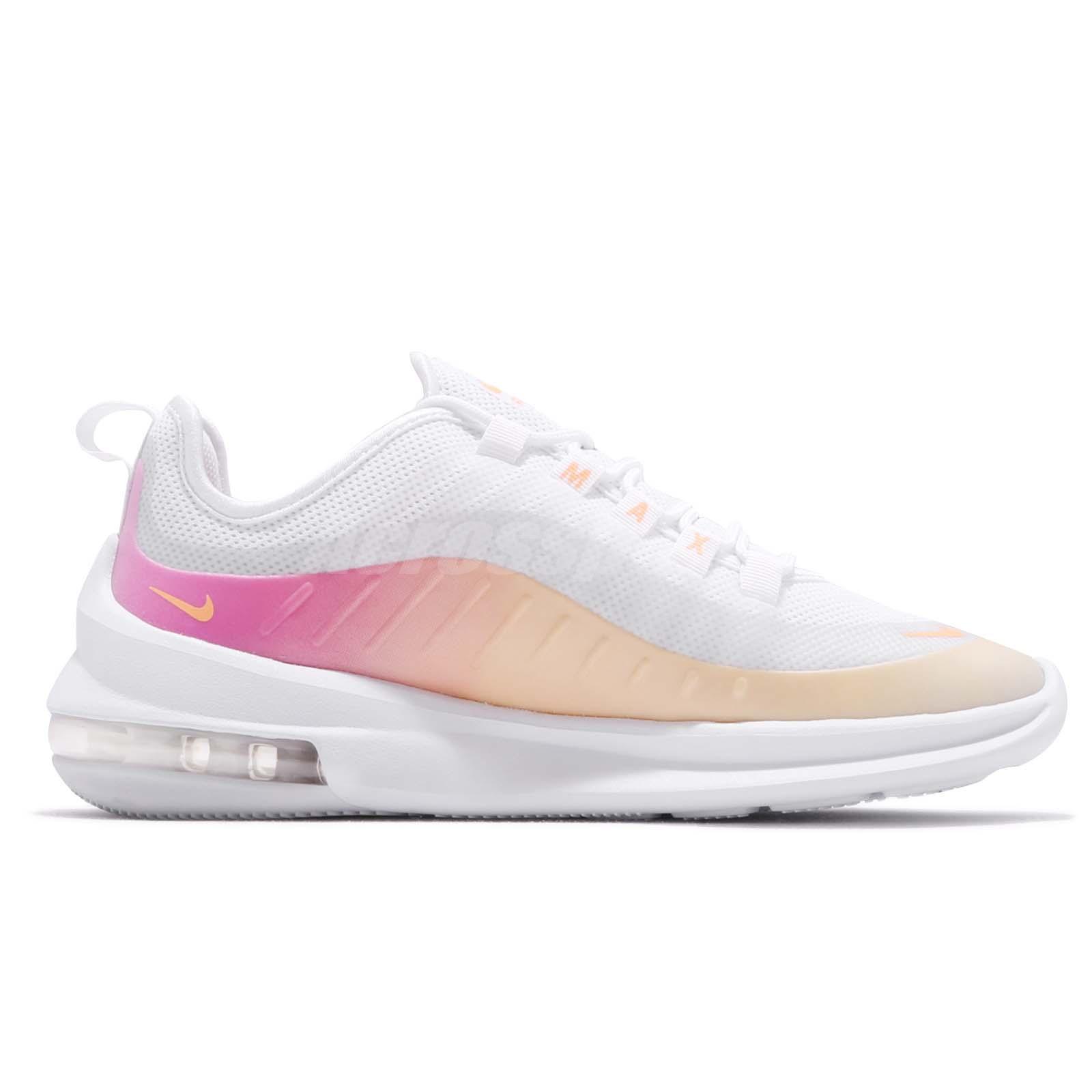 Detalles acerca de Nike Mujeres Air Max Eje Prem Blanco melón tinte láser Fucsia Zapato de mujer BQ0126 101 mostrar título original