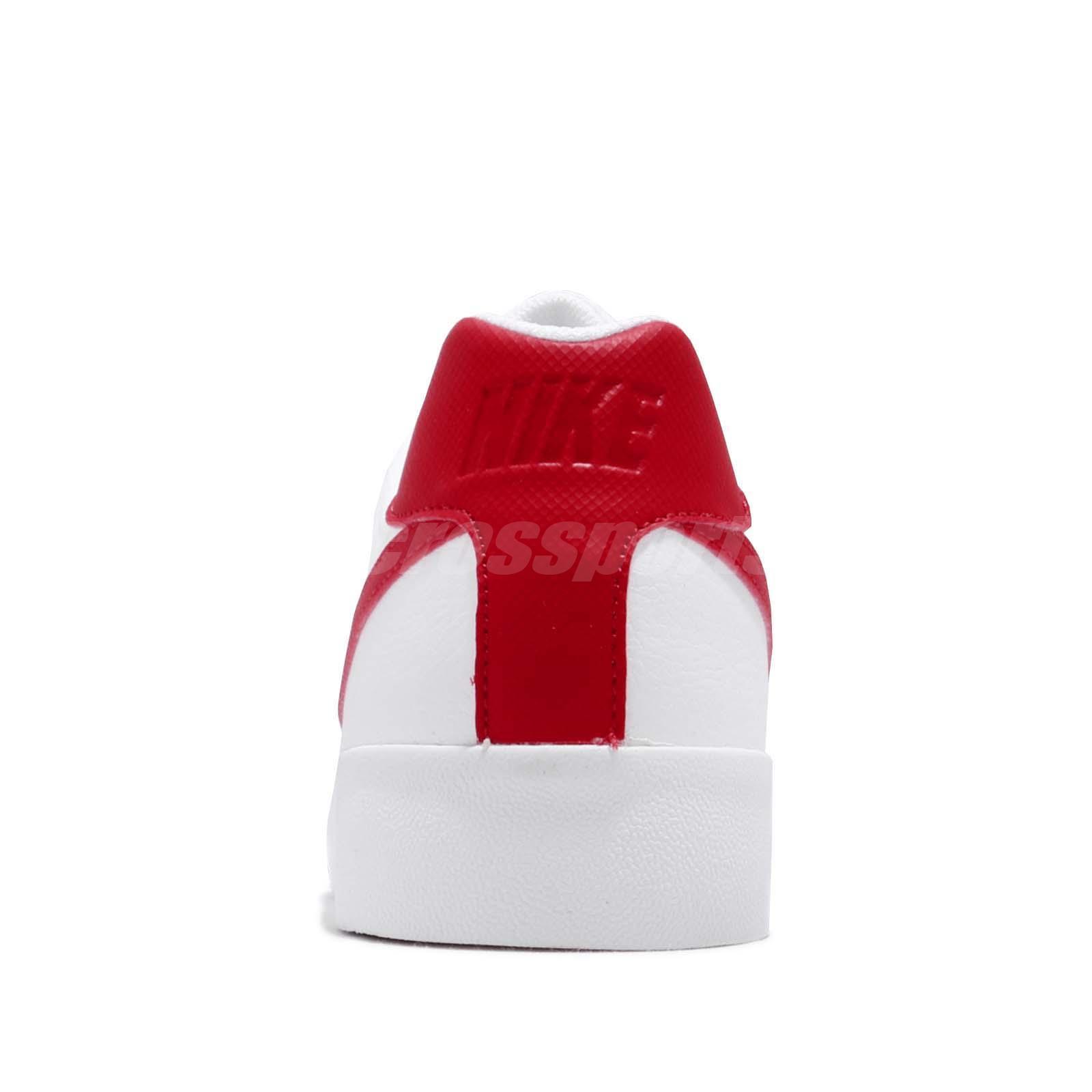 Detalles acerca de Nike Court Royale AC Blanco Rojo Universitario Hombre Informal Zapatos Tenis BQ4222 100 mostrar título original