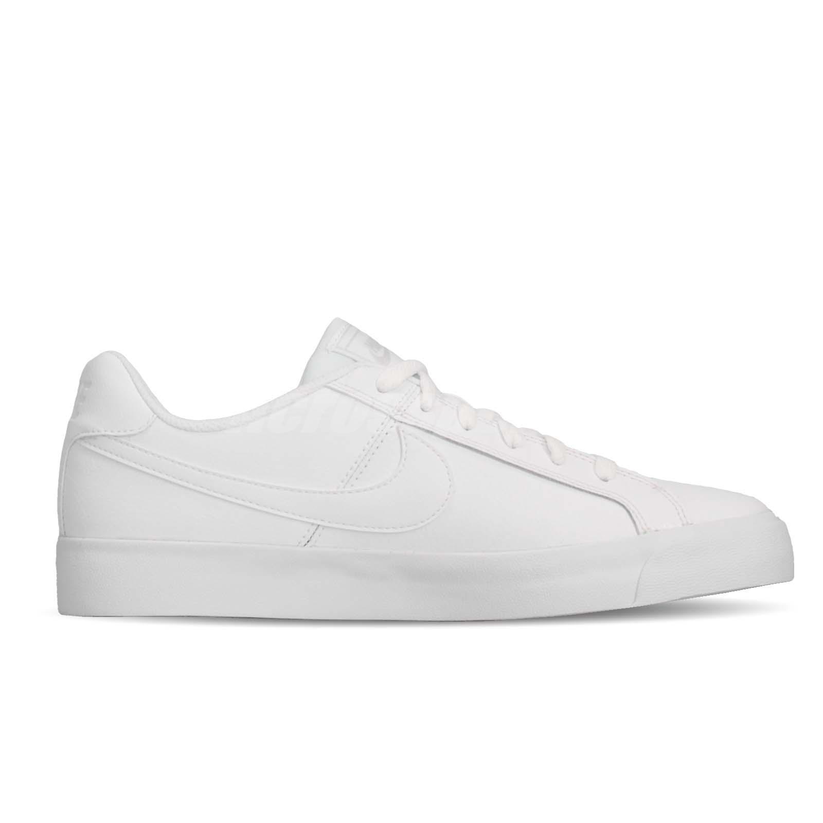 330868600 Nike Court Royale AC White Grey Gum Mens Casual Shoes Tennis ...
