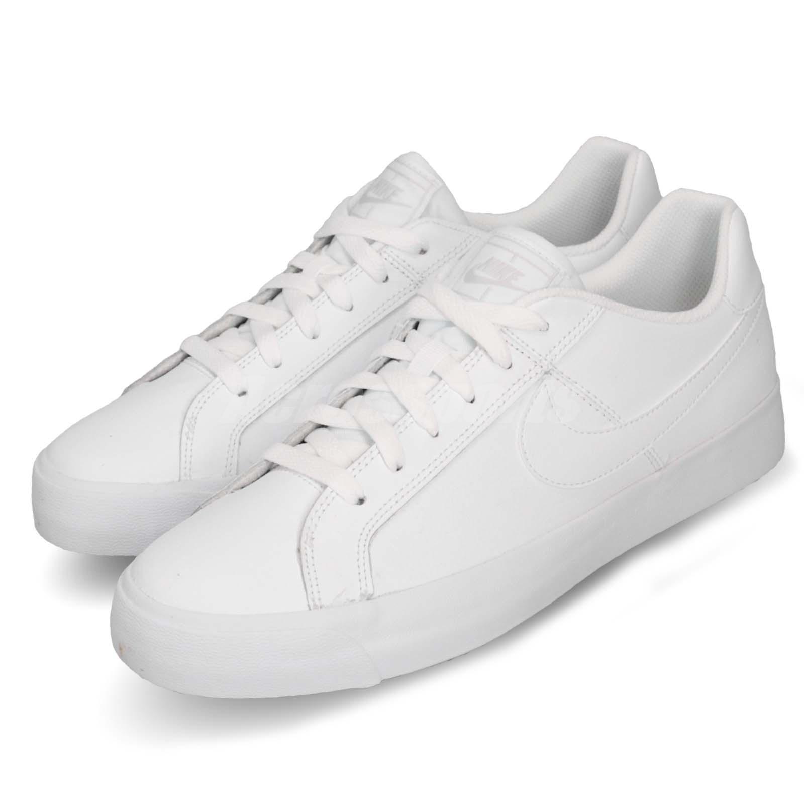 a pesar de Seguid así Patético  Nike Court Royale AC Blanco Gris Goma Clásico De Hombre Zapatos informales  Tenis BQ4222-101 | eBay