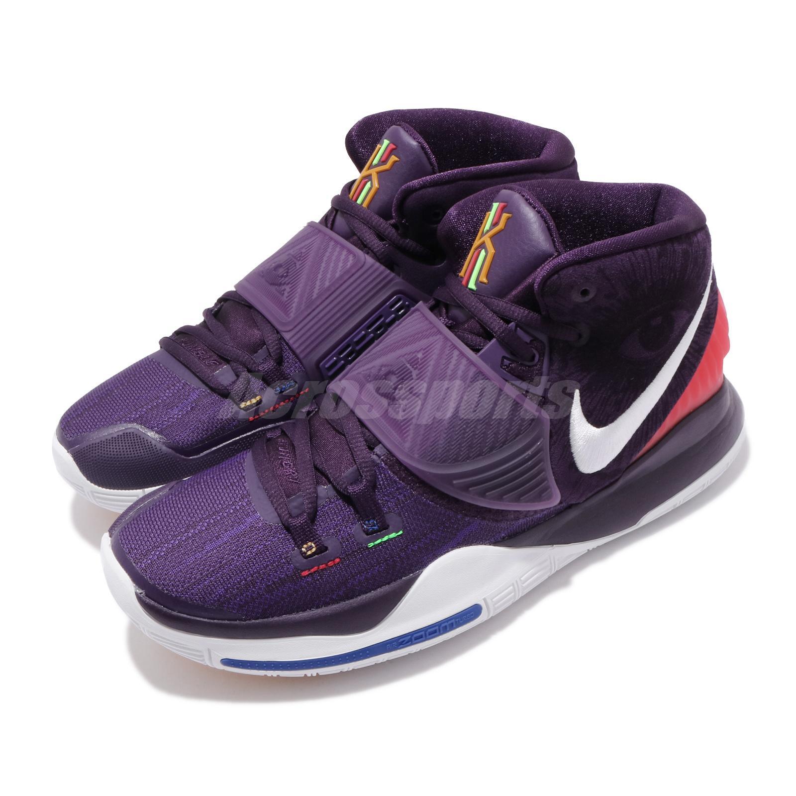 Nike Kyrie 6 EP Grand Morada Blanca Irving Vi Para Hombre Zapatillas de  baloncesto BQ4631-500