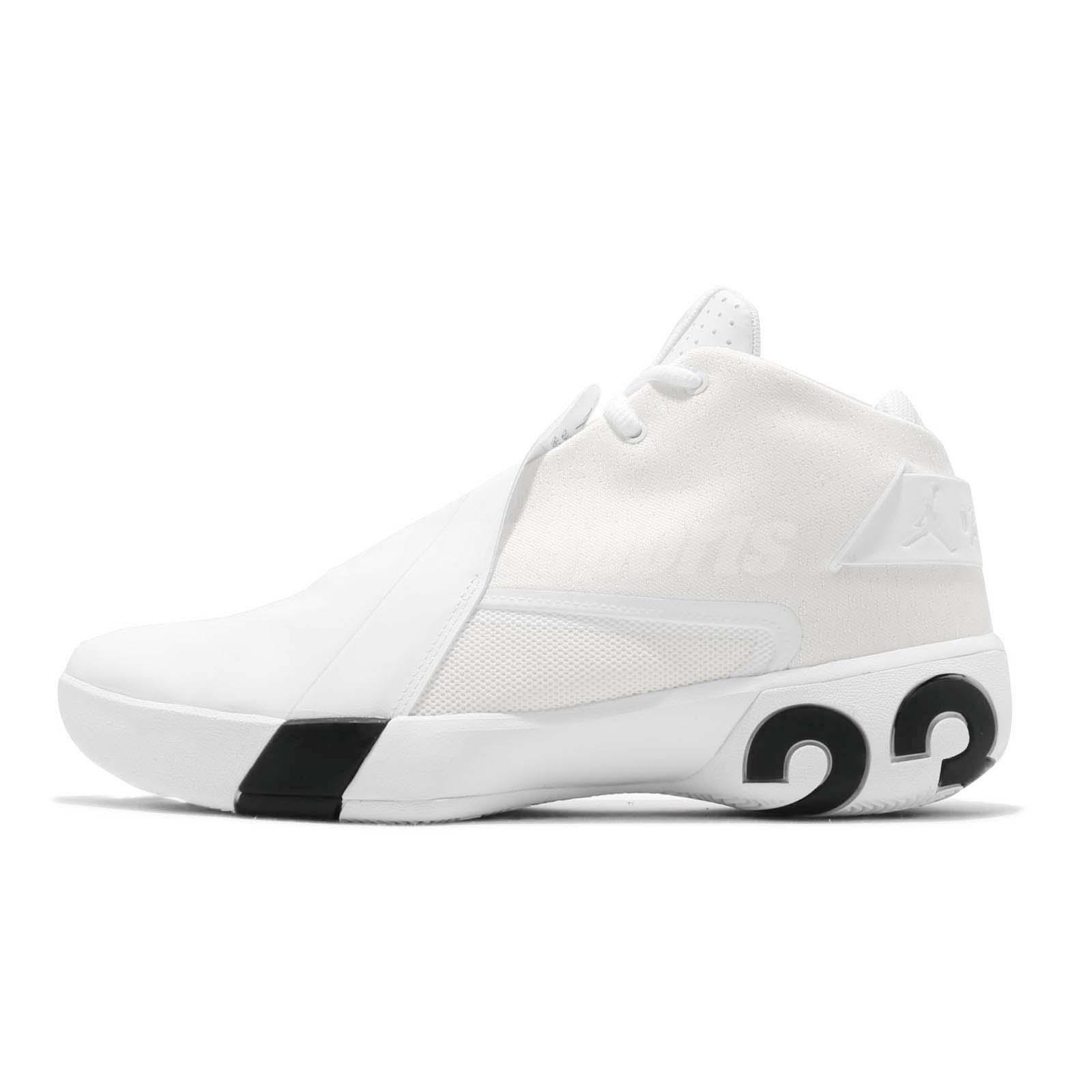 88d41f8b073c Nike Jordan Ultra Fly 3 PFX 23 White Black Men Basketball Shoes BQ6280-100
