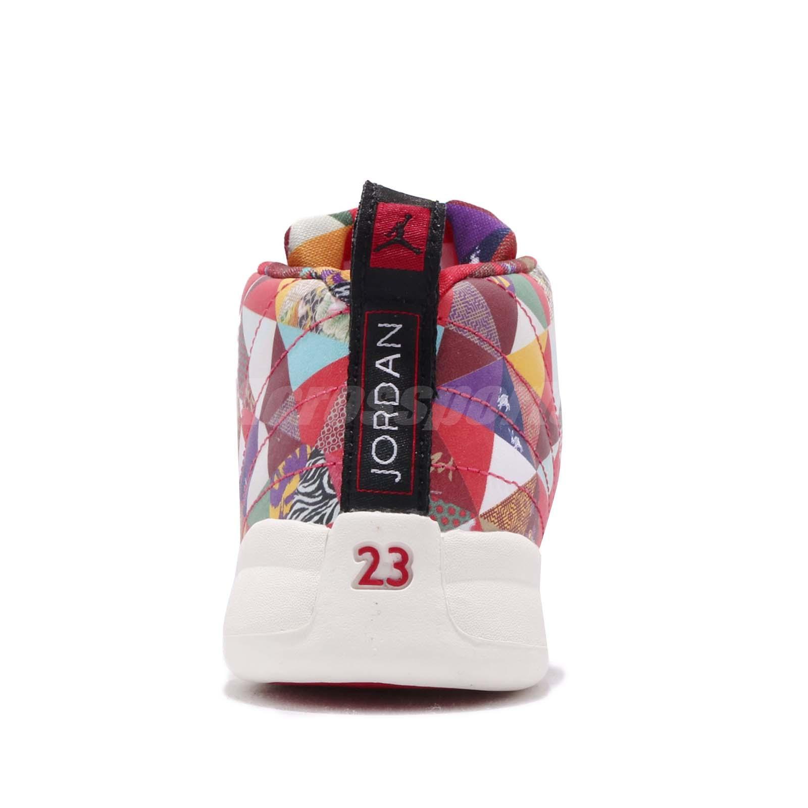 c230656c5f4 Nike Jordan 12 Retro CNY TD XII Chinese New Year 2019 Toddler Infant ...