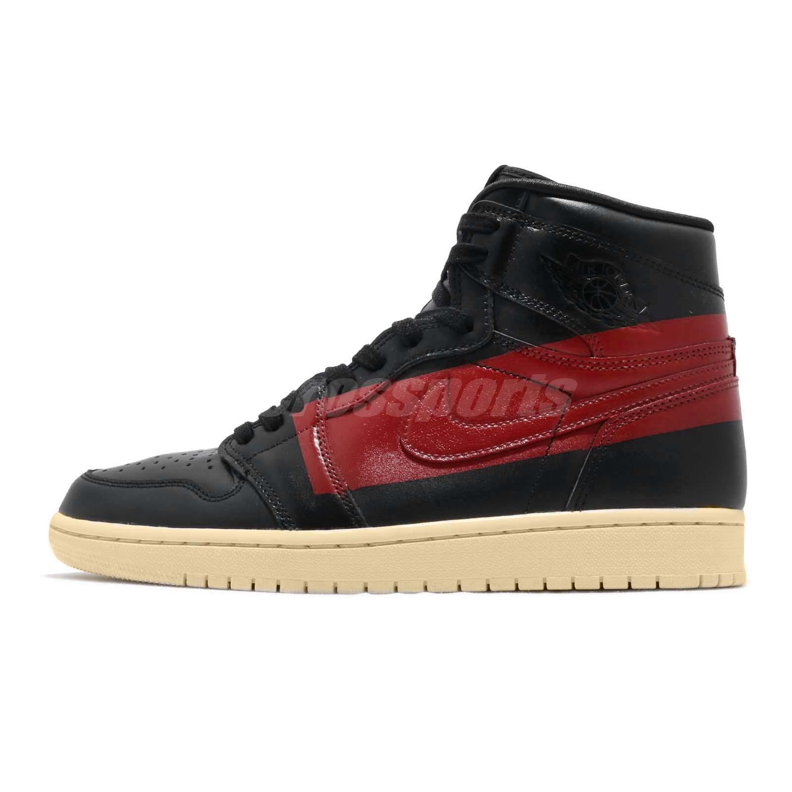 e73e490c3c537a Nike Air Jordan 1 Retro High OG Defiant Couture Black Red Bred Banned  BQ6682-006