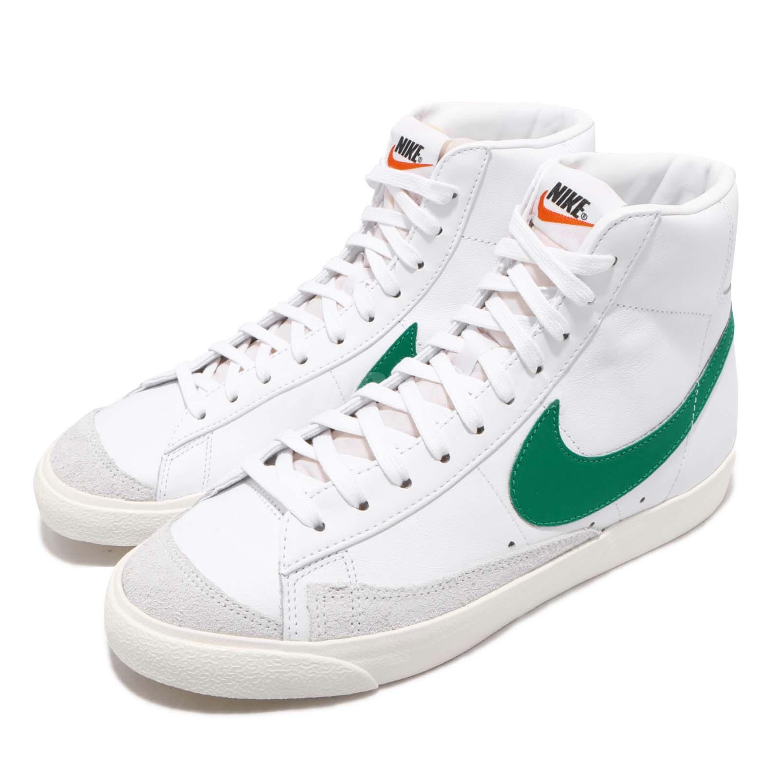 Details about Nike Blazer Mid 77 VNTG Vintage Lucid Green Sail Mens Casual  Shoes BQ6806-300 281f064c7