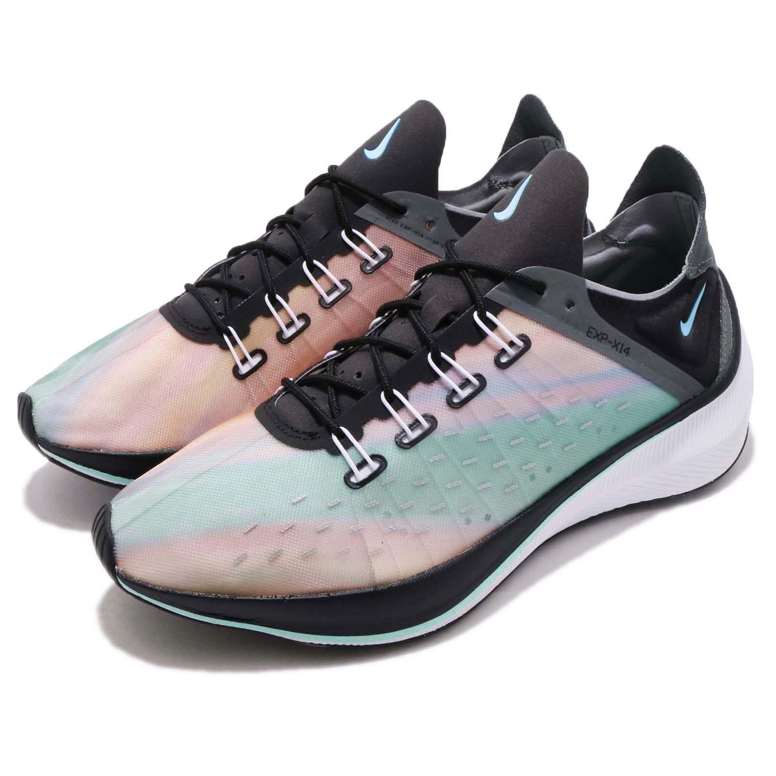 186ec8ba71f4 Details about Nike EXP-X14 QS Sunset Black Grey White Men Running Shoes  Sneakers BQ6972-001