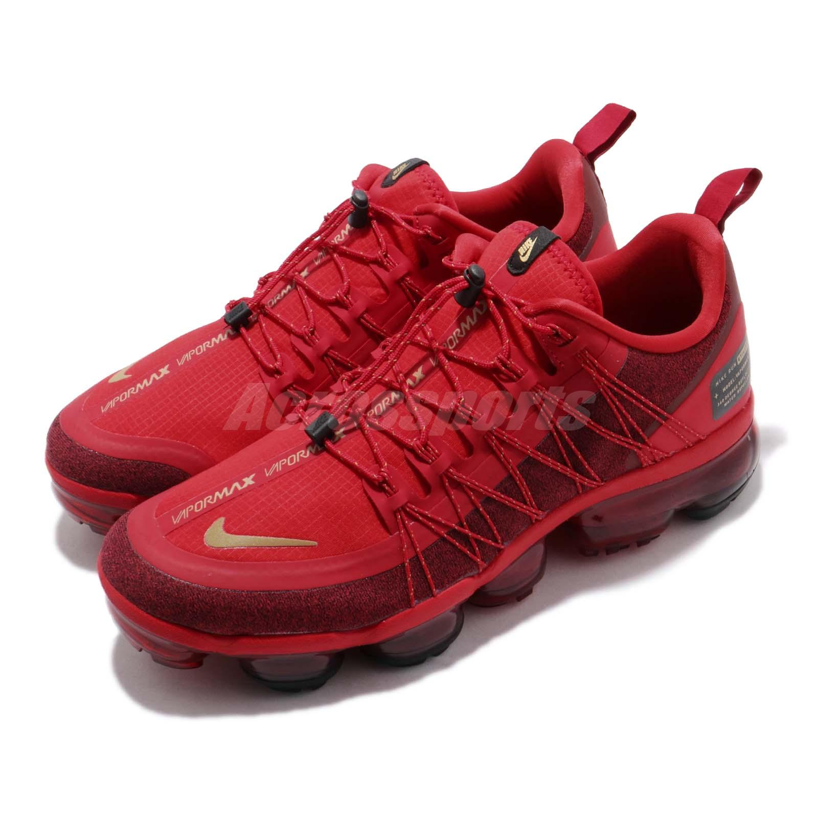 6c7aa9d3fc Details about Nike Air Vapormax RN Utility CNY Chinese New Year Red Gold  Run Shoes BQ7039-600