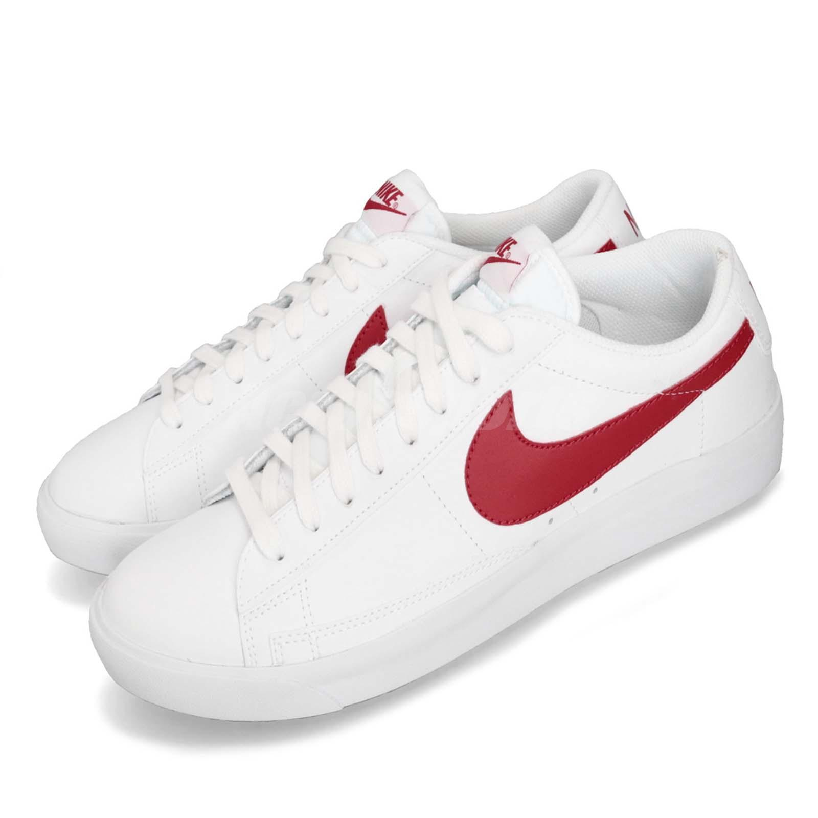 Details about Nike Blazer Low LX University Red White Men Casual Shoes  Sneakers BQ7306-600