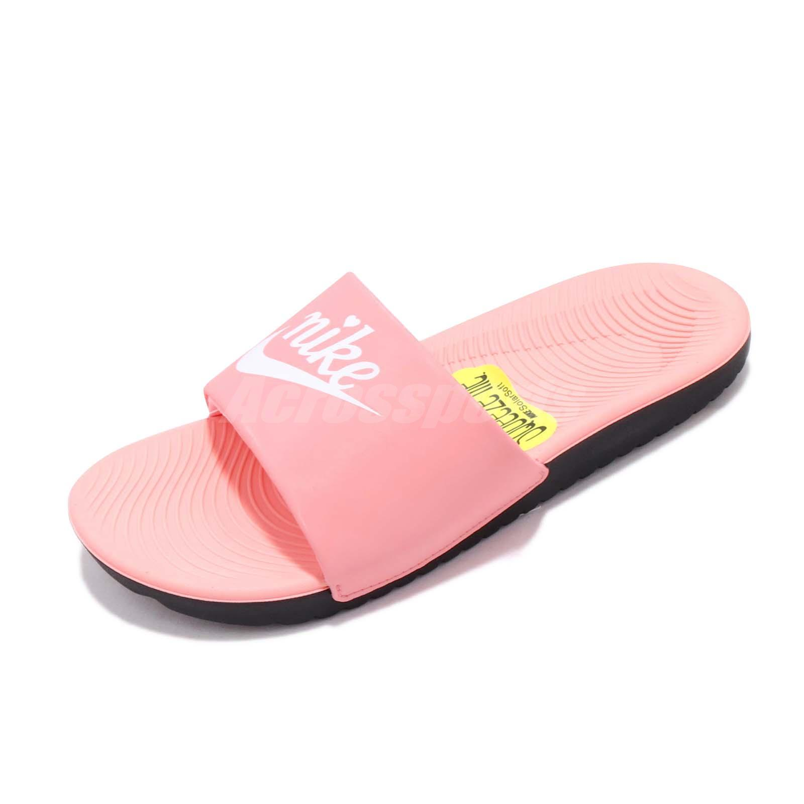 new concept d686d dfd54 Details about Nike Kawa Slide VDAY GS PS Kids Girls Slippers Slides  Valentines Day BQ7427-600