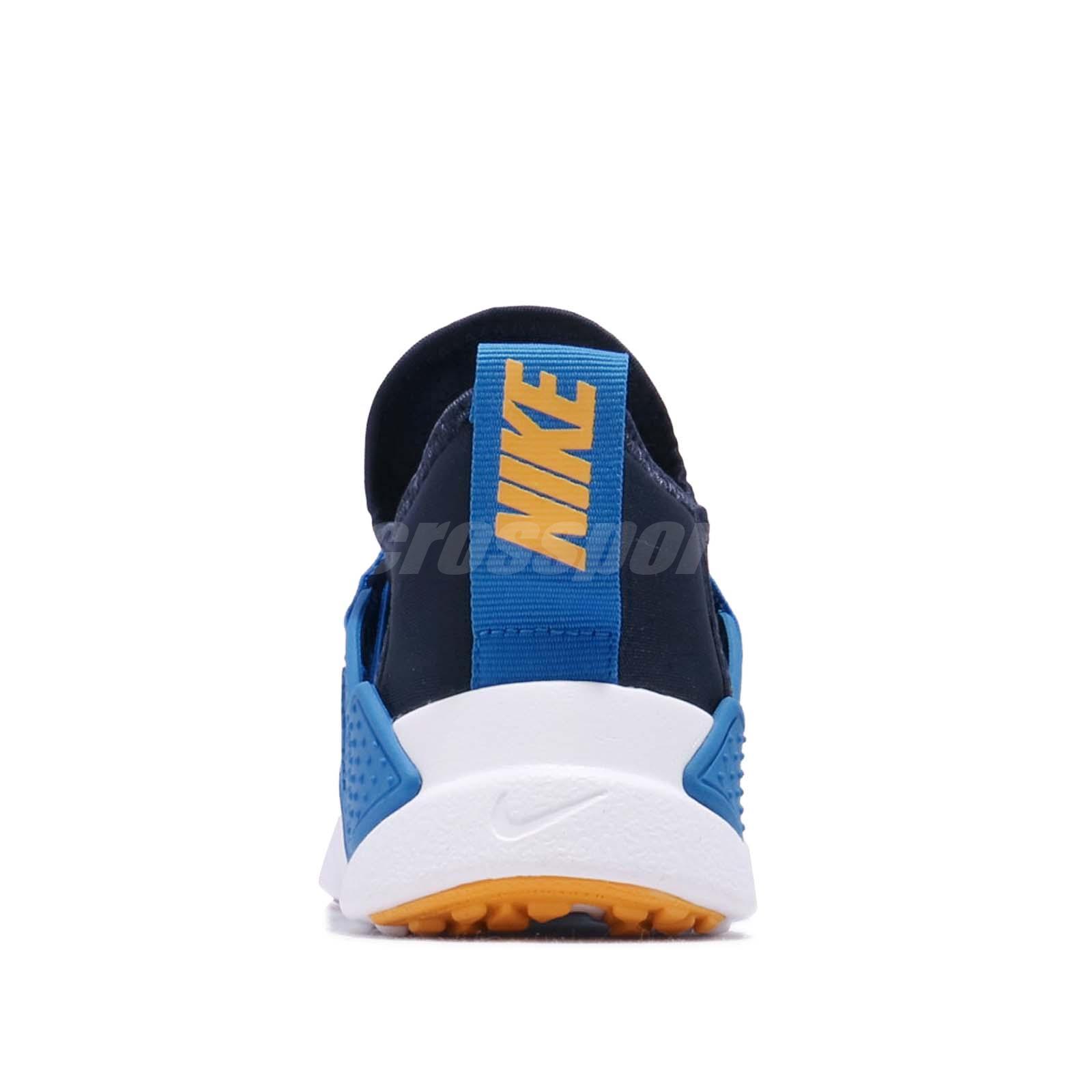 4dd9752e Nike Huarache Extreme Now PS Navy Amarillo Blue Kid Preschool Shoes ...