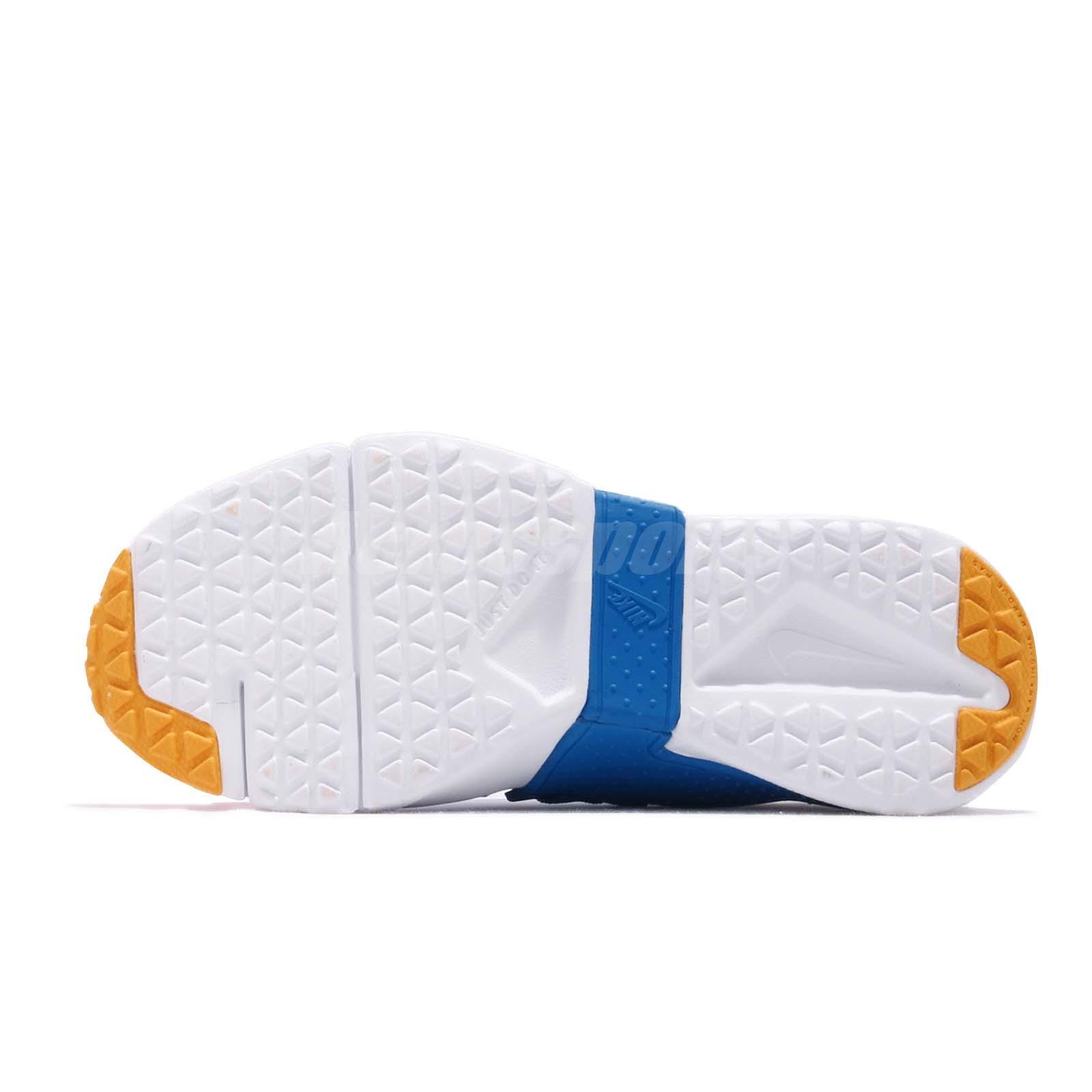the latest d20ba 73a71 Nike Huarache Extreme Now PS Navy Amarillo Blue Kid Preschool Shoes ...