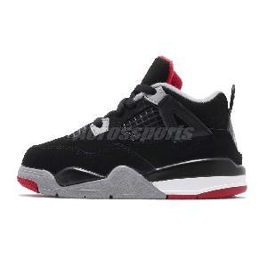 446ad00d7591e8 Nike Air Jordan 4 Retro IV Bred 2019 Release AJ4 Family Size Pick 1 ...