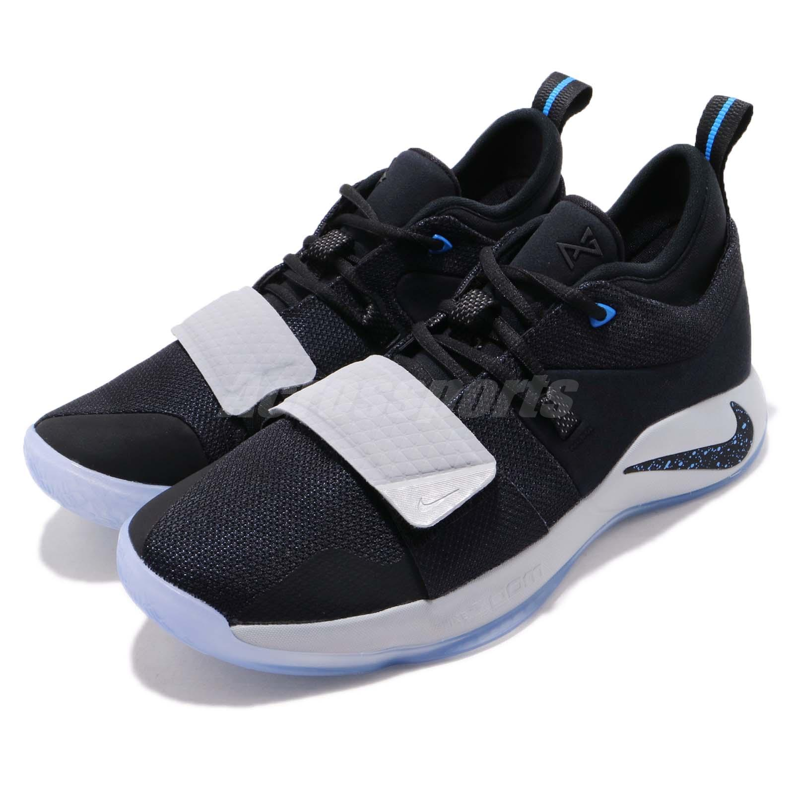 6758dd3ac7e7 Details about Nike PG 2.5 EP Black Photo Blue Paul George Mens Basketball  Shoes BQ8453-006