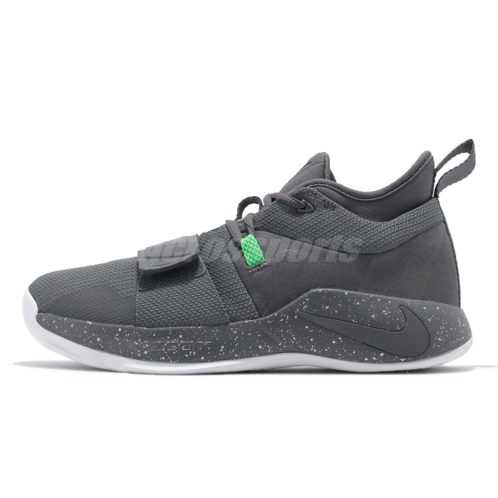Nike PG 2.5 EP Paul George Grey Green White Men Basketball Shoes BQ8453-007 77faed3bb