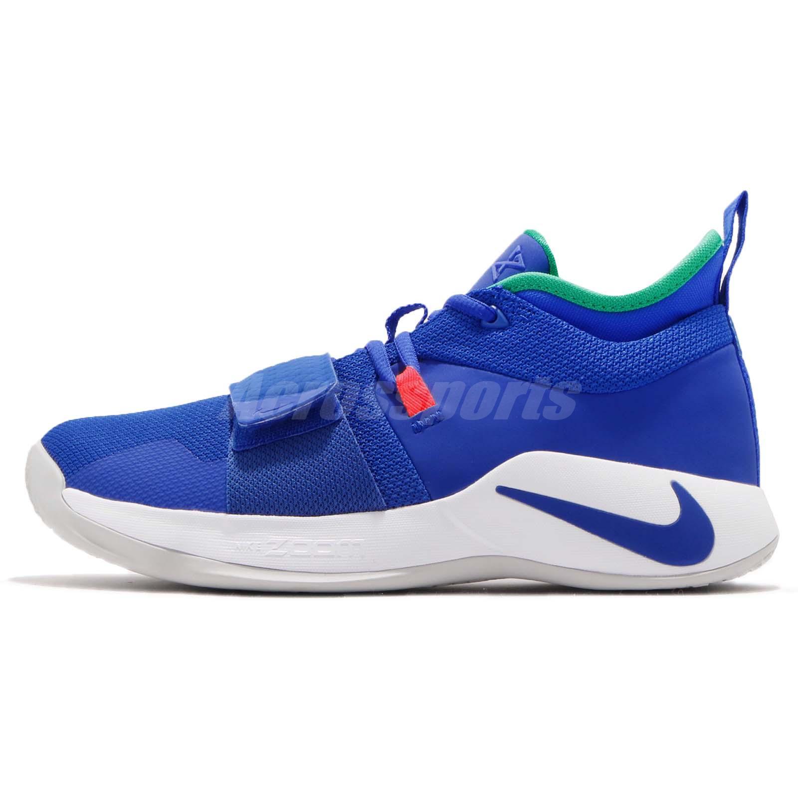 c300f0c3aee Nike PG 2.5 EP Paul George Fortnite Racer Blue Men Basketball Shoes BQ8453- 401