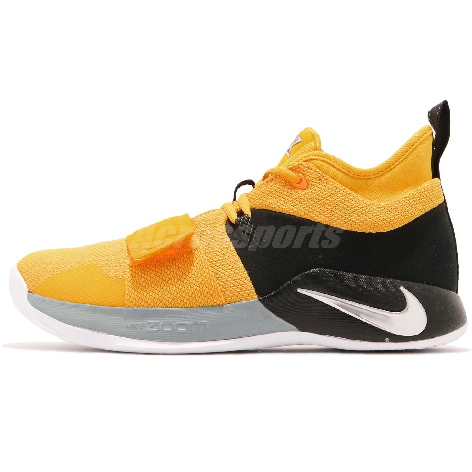0581adabca81a7 Nike PG 2.5 EP Paul George Moon Exploration Amarillo Yellow Men Shoes  BQ8453-700