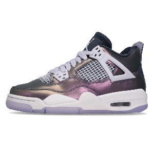 404ae4650f5cb2 Nike Air Jordan 4 Retro IV SE Women Kids Junior Basketball Shoes ...
