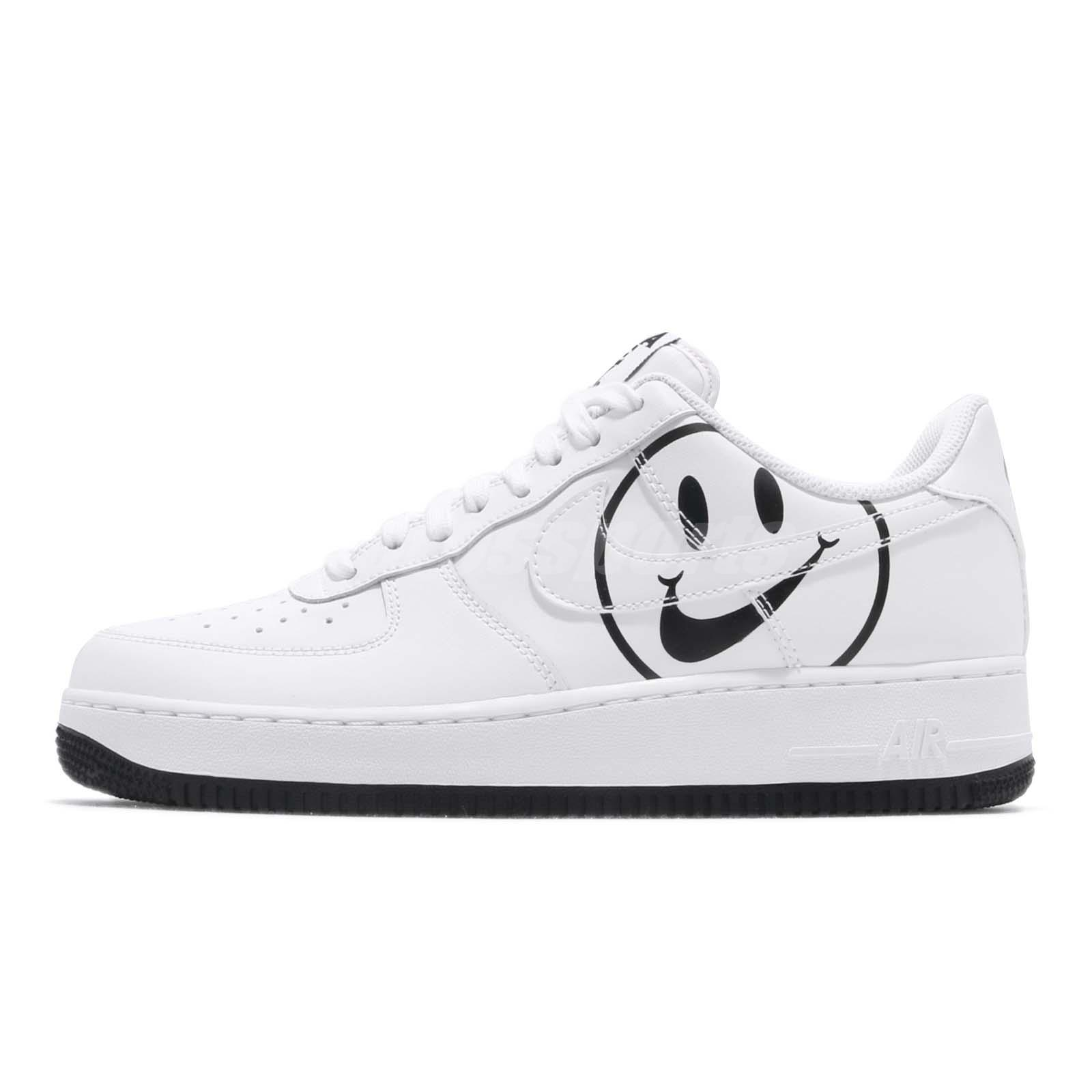 f4a92ca36cb7 Nike Air Force 1 07 LV8 ND AF1 Have A Nike Day White Black Men Shoes  BQ9044-100