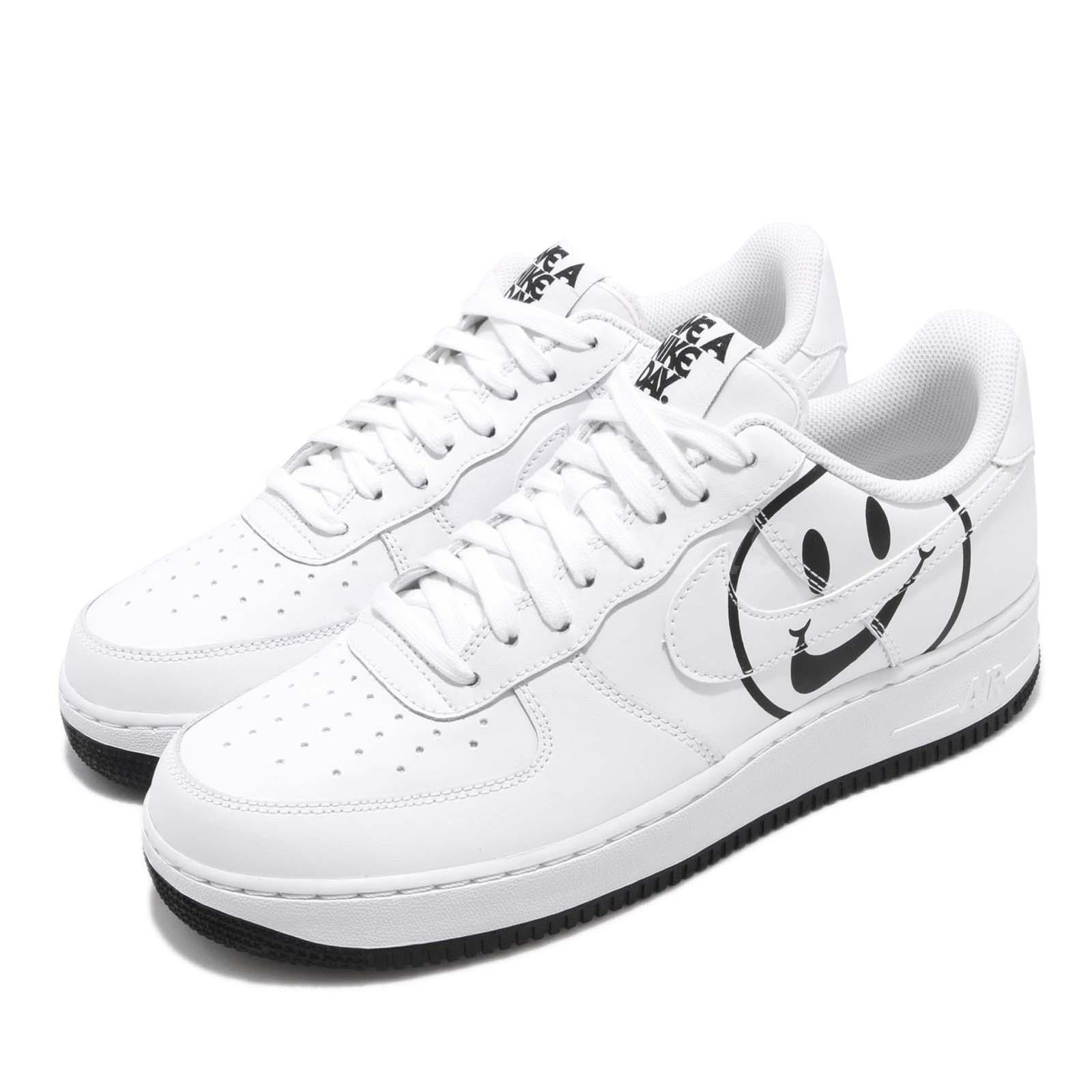 sale retailer 50a59 d74d5 Details about Nike Air Force 1 07 LV8 ND AF1 Have A Nike Day White Black  Men Shoes BQ9044-100