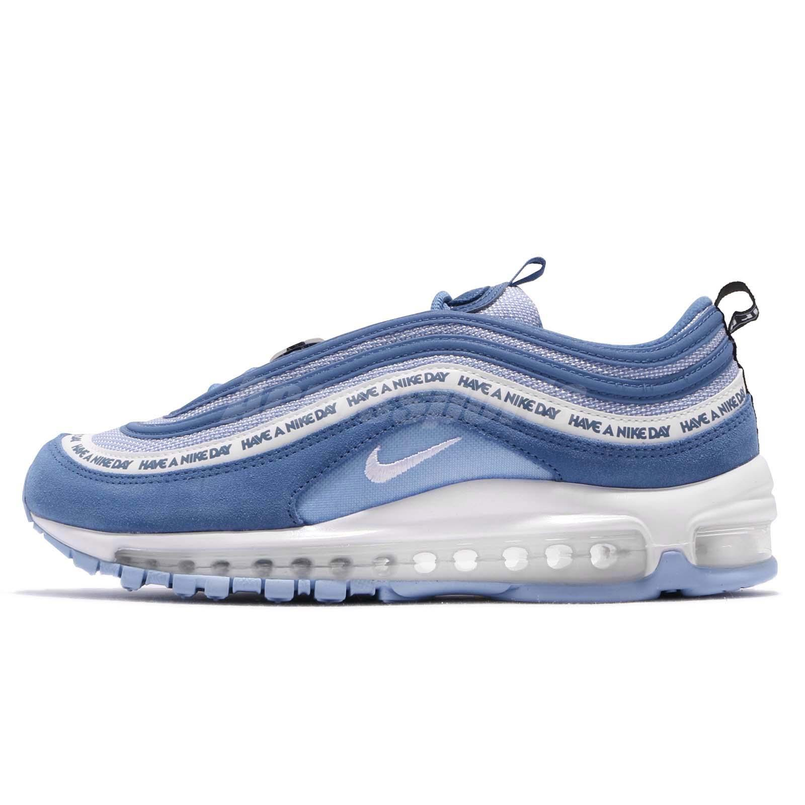 cdfccecfa62 Nike Air Max 97 ND Have A Nike Day Indigo Storm White Men Shoes BQ9130-400