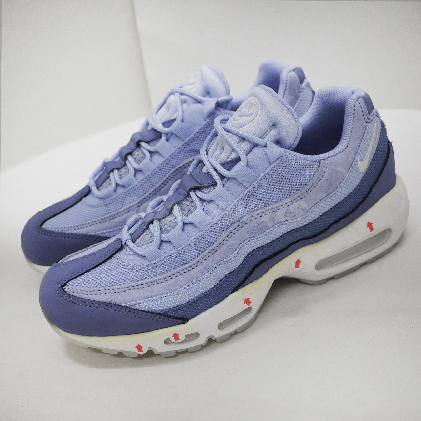 Nike Air Max 95 Nd Left Foot With Discoloration Blue Men Shoes Us8 Bq9131 400 Ebay
