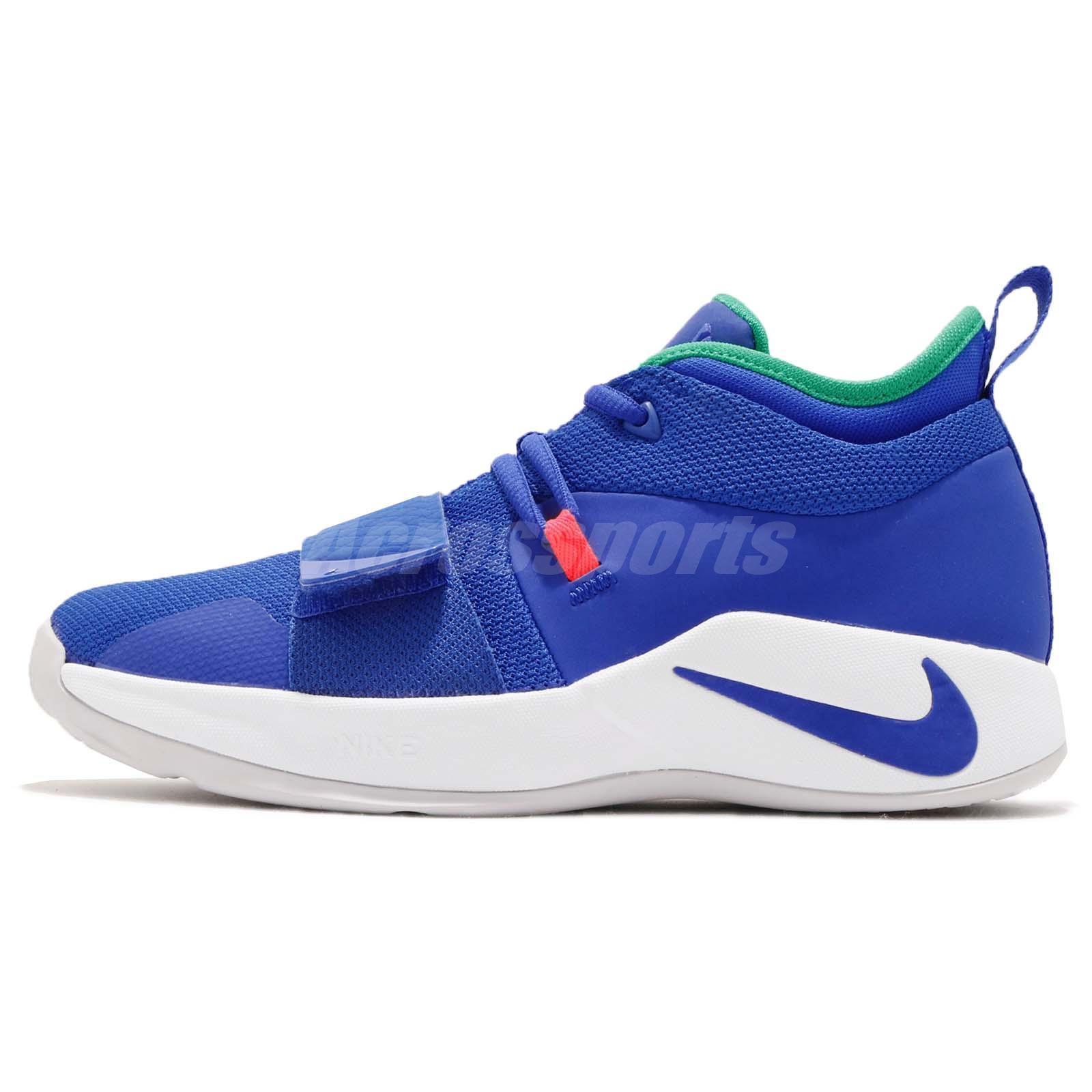 496ba34e5caa Nike PG 2.5 GS Paul George Fortnite Racer Blue Kid Youth Women Shoes BQ9457 -401