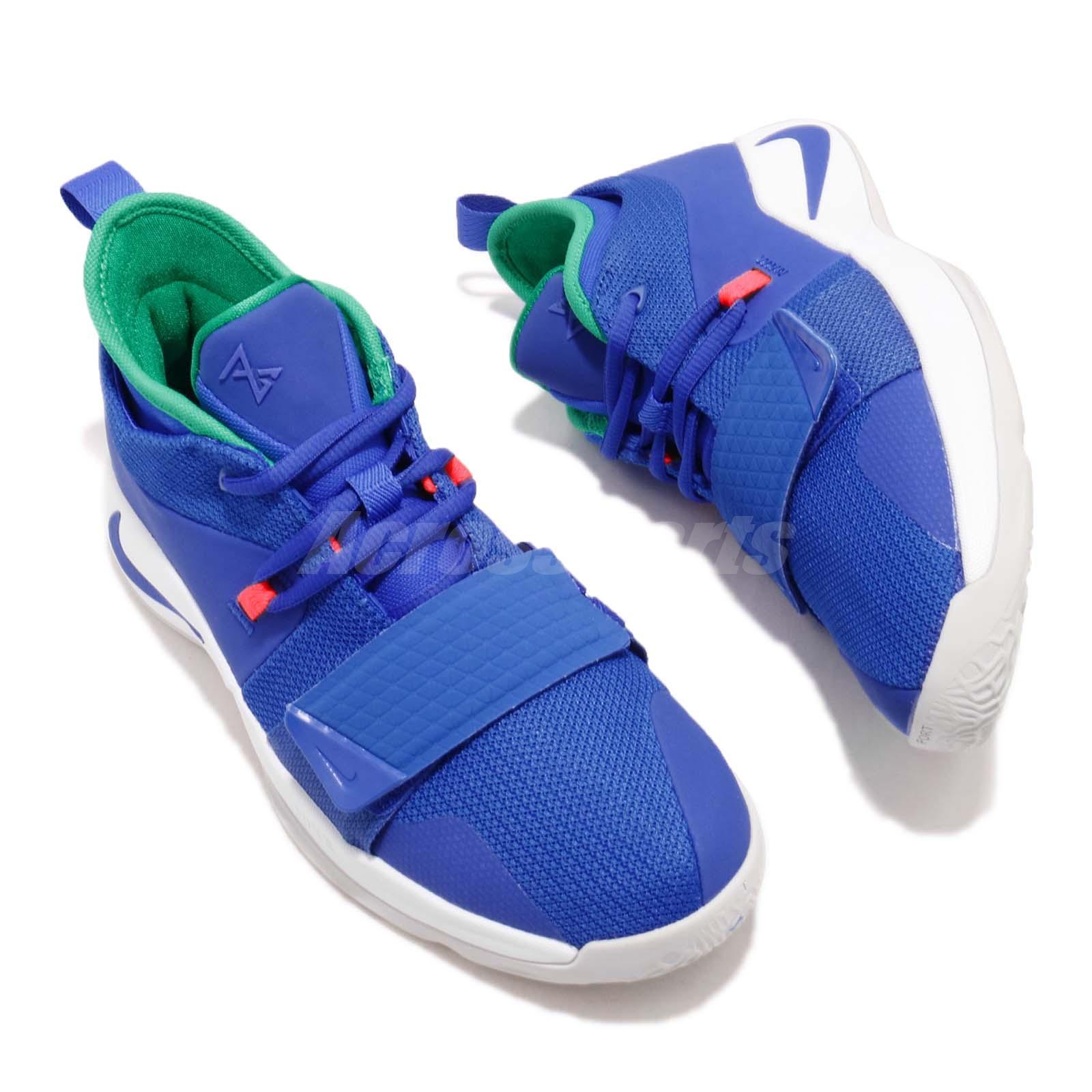 c44fce4923a0 Nike PG 2.5 grade-school Paul George Racer Azul Niño Jóvenes Mujeres ...