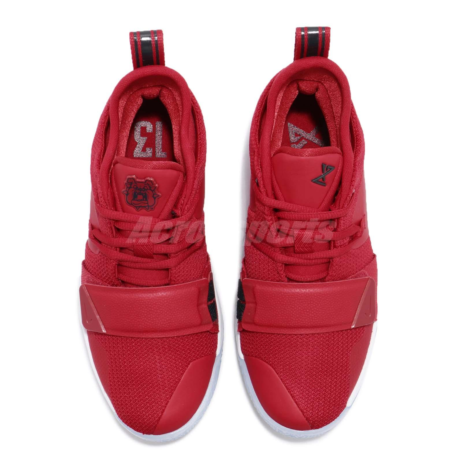 Athletic Shoes Nike Pg 2.5 Gs Fresno St.bulldogs Gym Red Paul George Basketball Shoe Bq9457-600