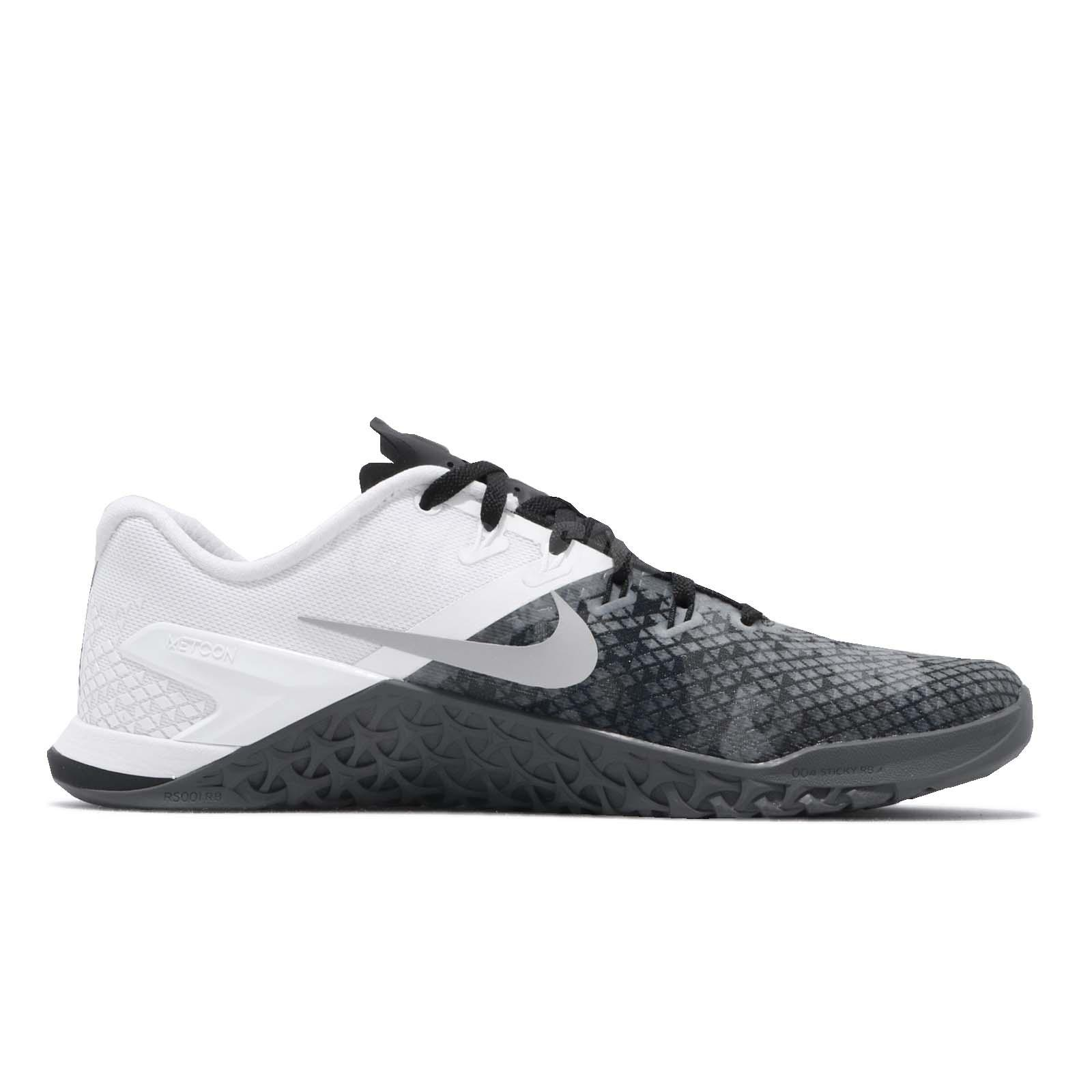 4c368173dfe0 Nike Metcon 4 XD Black Grey Men Cross Training Weight Lifting Shoes ...