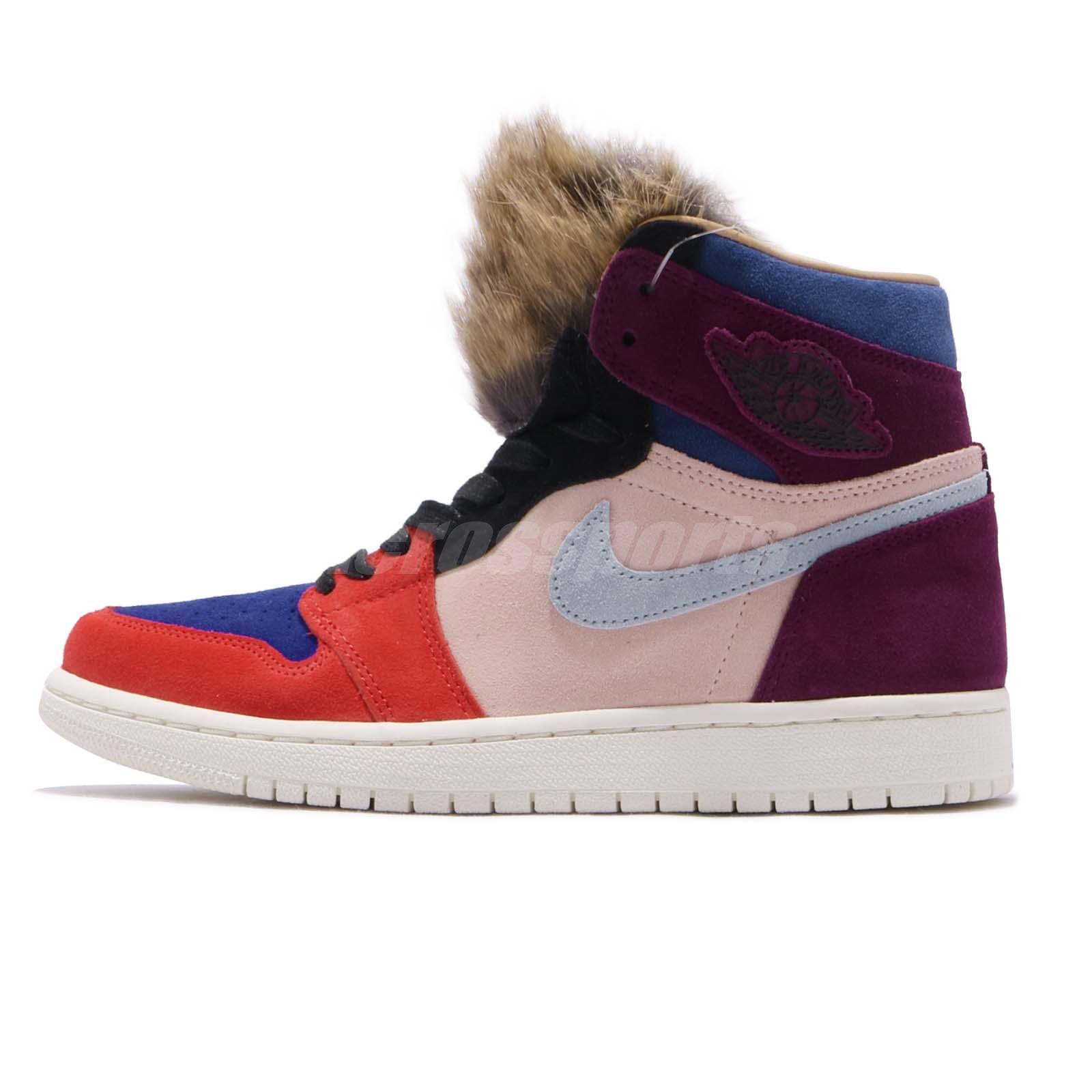 fc79c7202b7b Nike Wmns Air Jordan 1 High OG NRG Court Lux Aleali May Viotech Women BV2613 -600