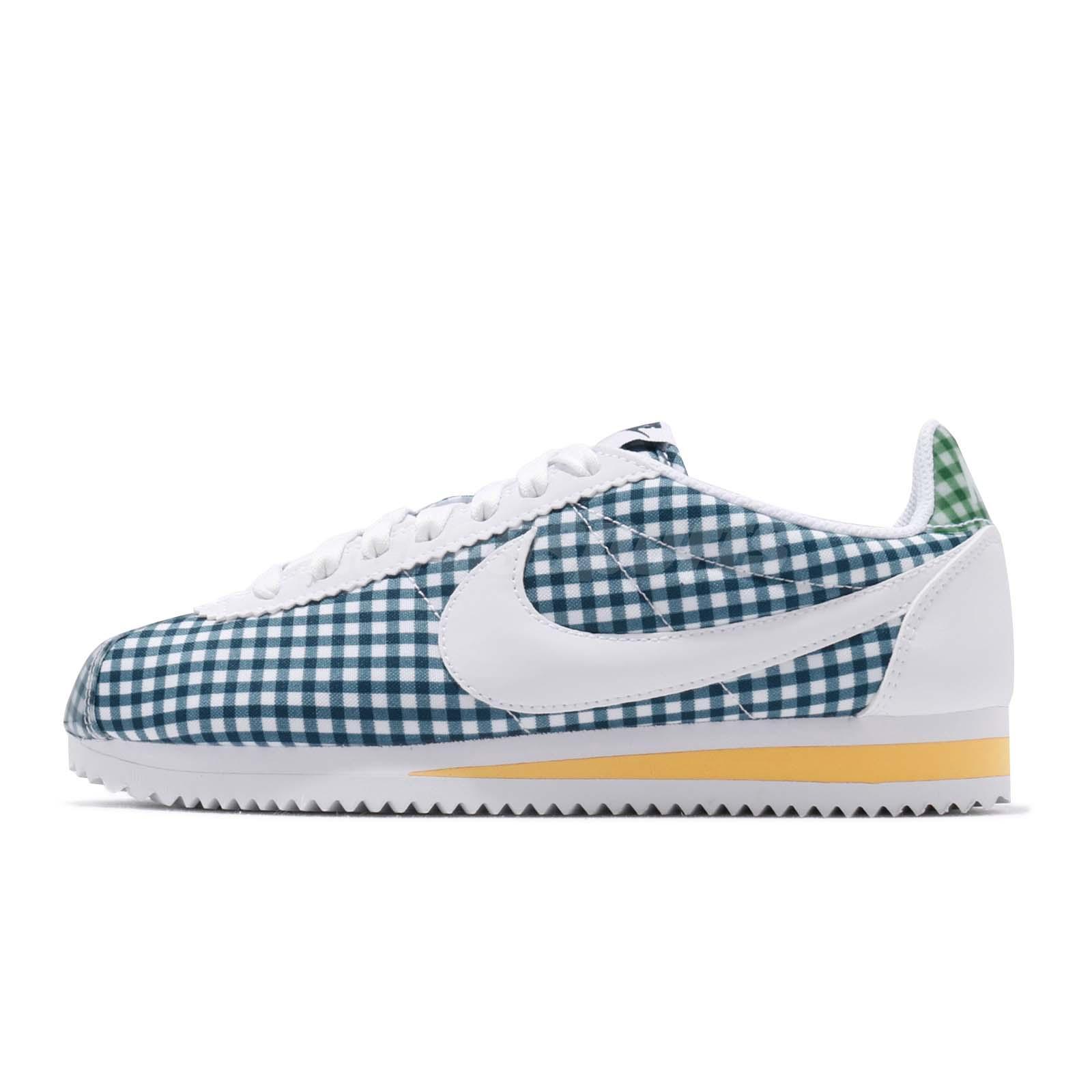 Detalles acerca de Nike Wmns Clásico Cortez Qs cheque Blanco Azul Fuerza Mujeres Zapato de correr BV4890 101 mostrar título original