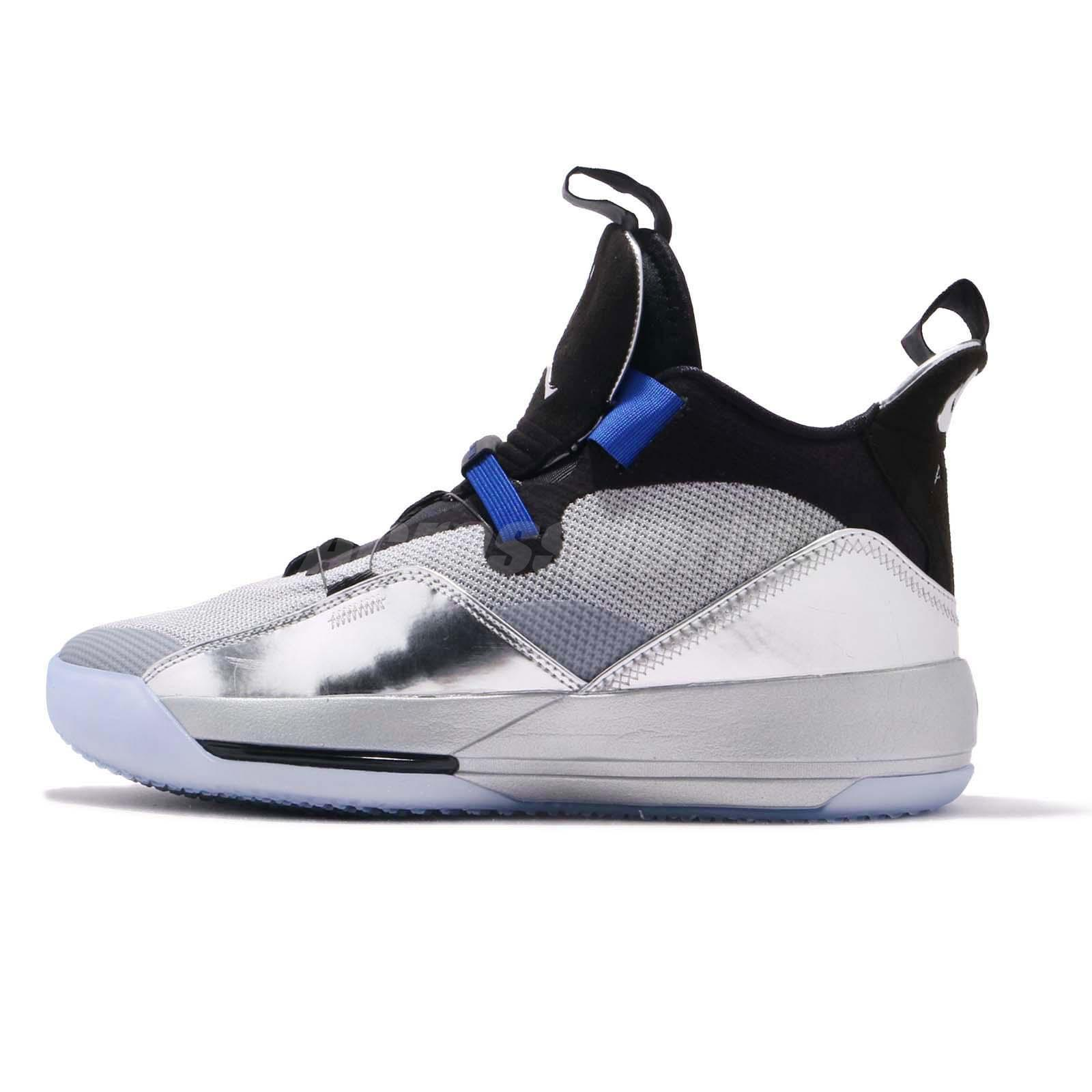 Nike Air Jordan 33 XIII Black Silver NBA All Star Game Charlotte 2019  BV5072-005 d505eb01f