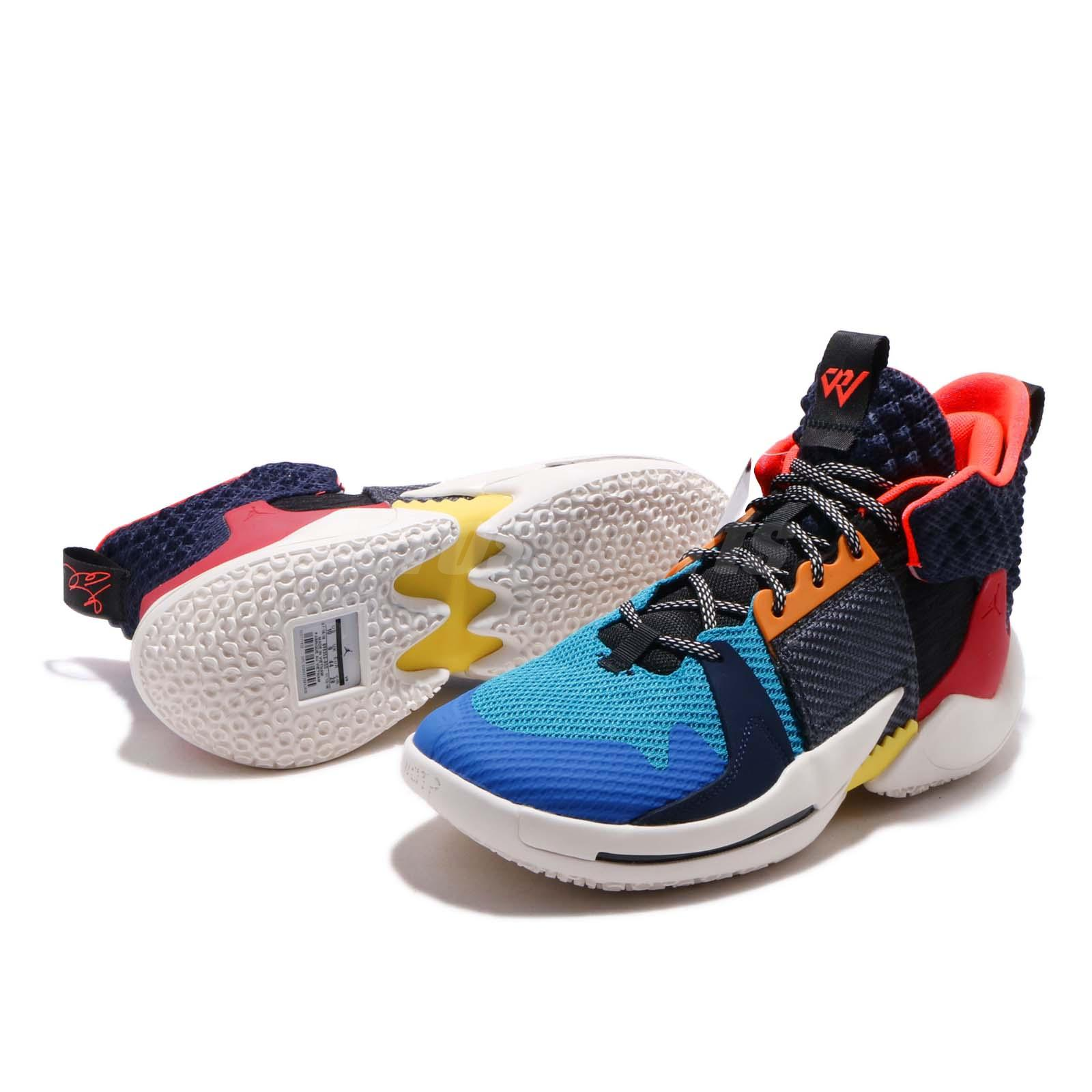 Nike Jordan Why Not ZER0.2 PF Multi-Color Russell ...