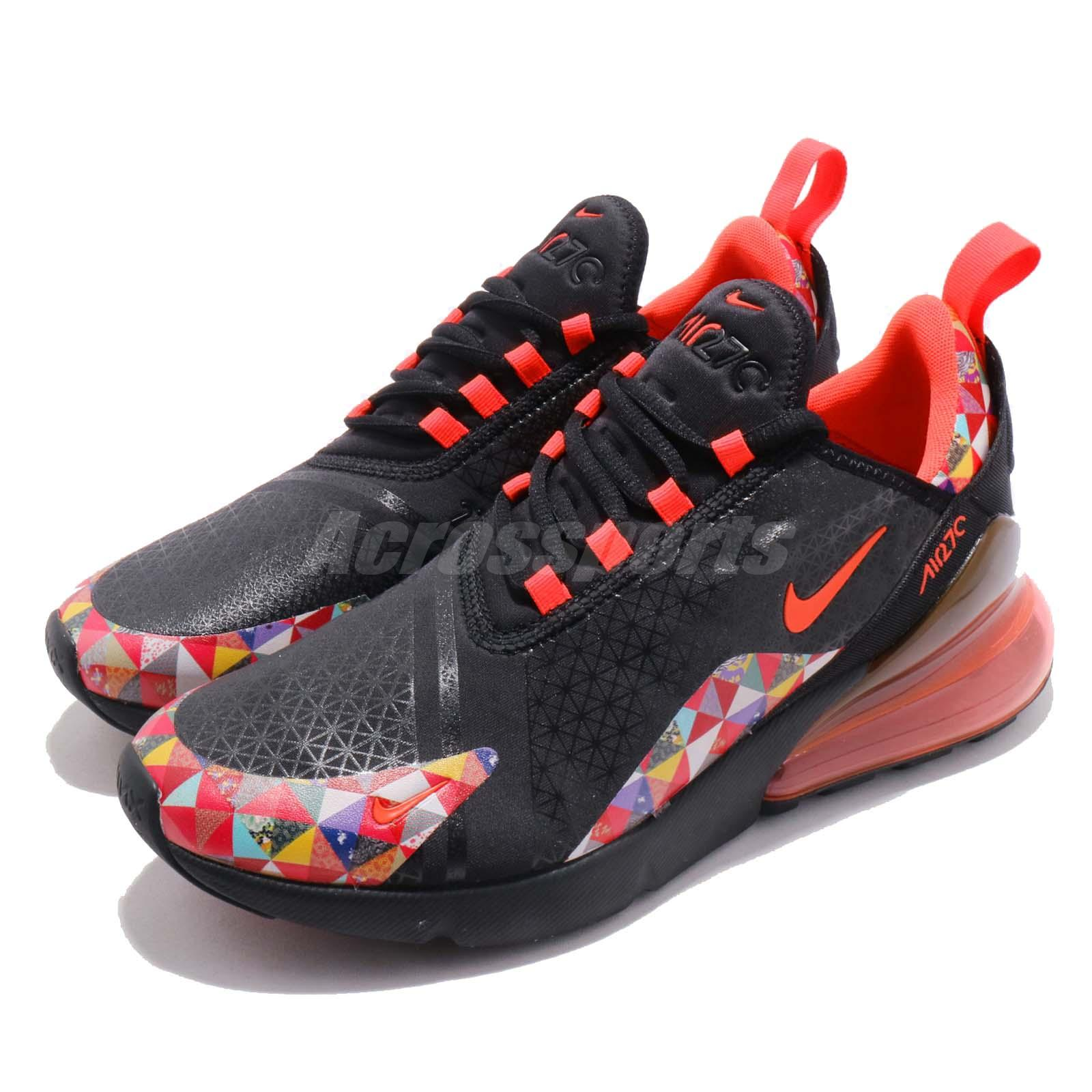 6a2115e74e9 Details about Nike Air Max 270 CNY Chinese New Year Red Black Men Running  Shoes BV6650-016