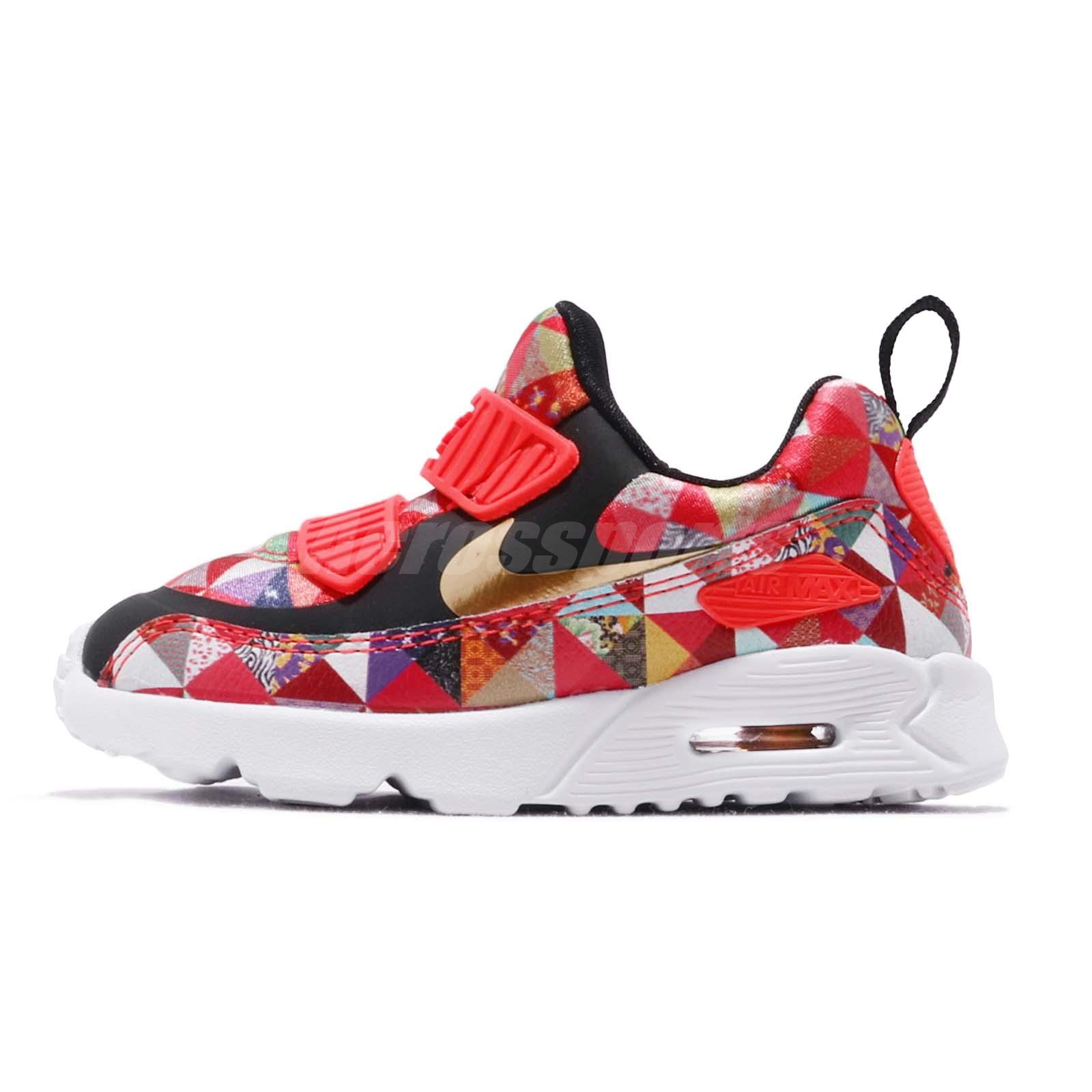 best cheap 6f662 64920 Details about Nike Air Max Tiny 90 BT CNY Chinese New Year TD Toddler  Infant Shoes BV6664-617