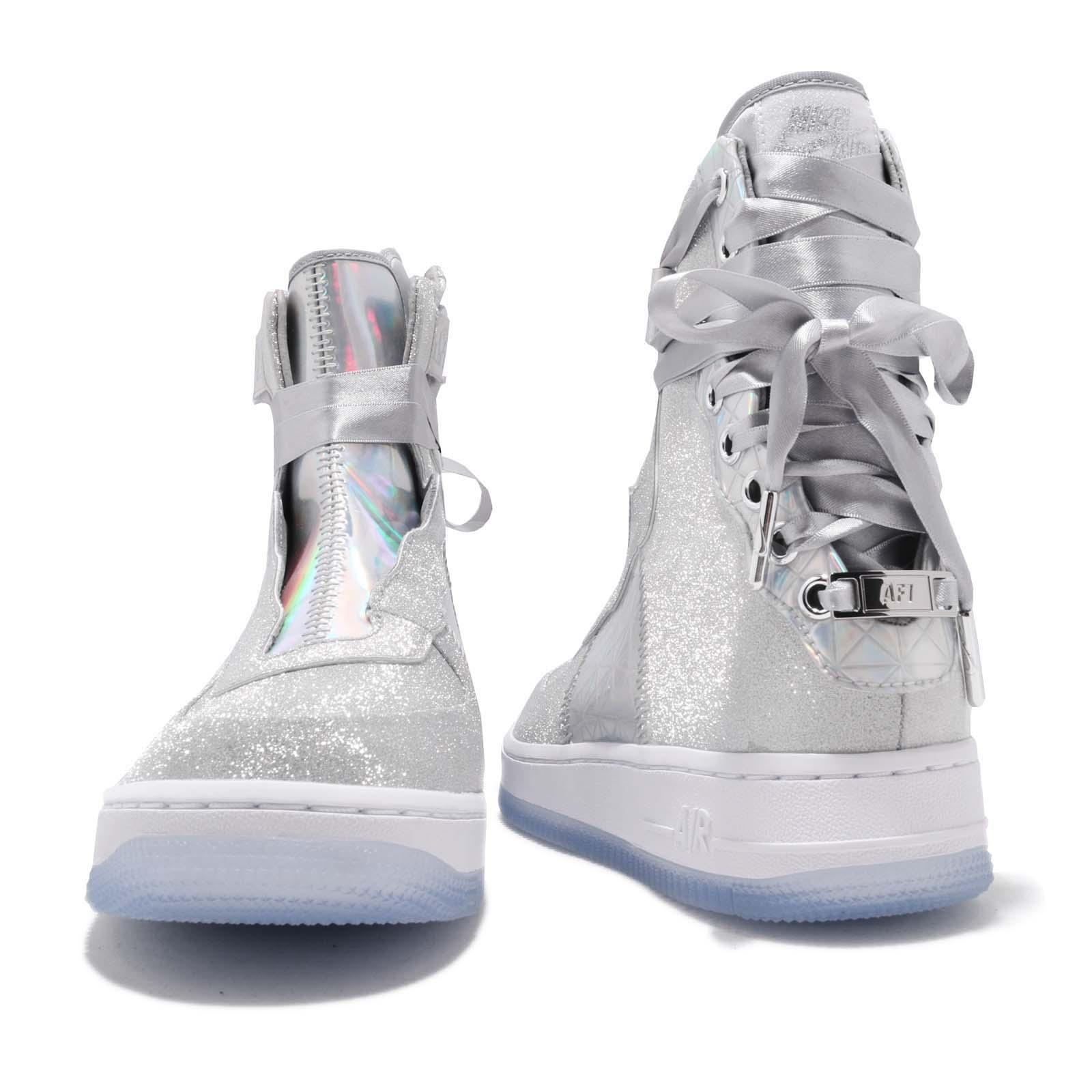 26ff8be4d03e Nike Wmns AF1 REBEL XX CNY Air Force 1 Silver Women Shoes Sneakers ...