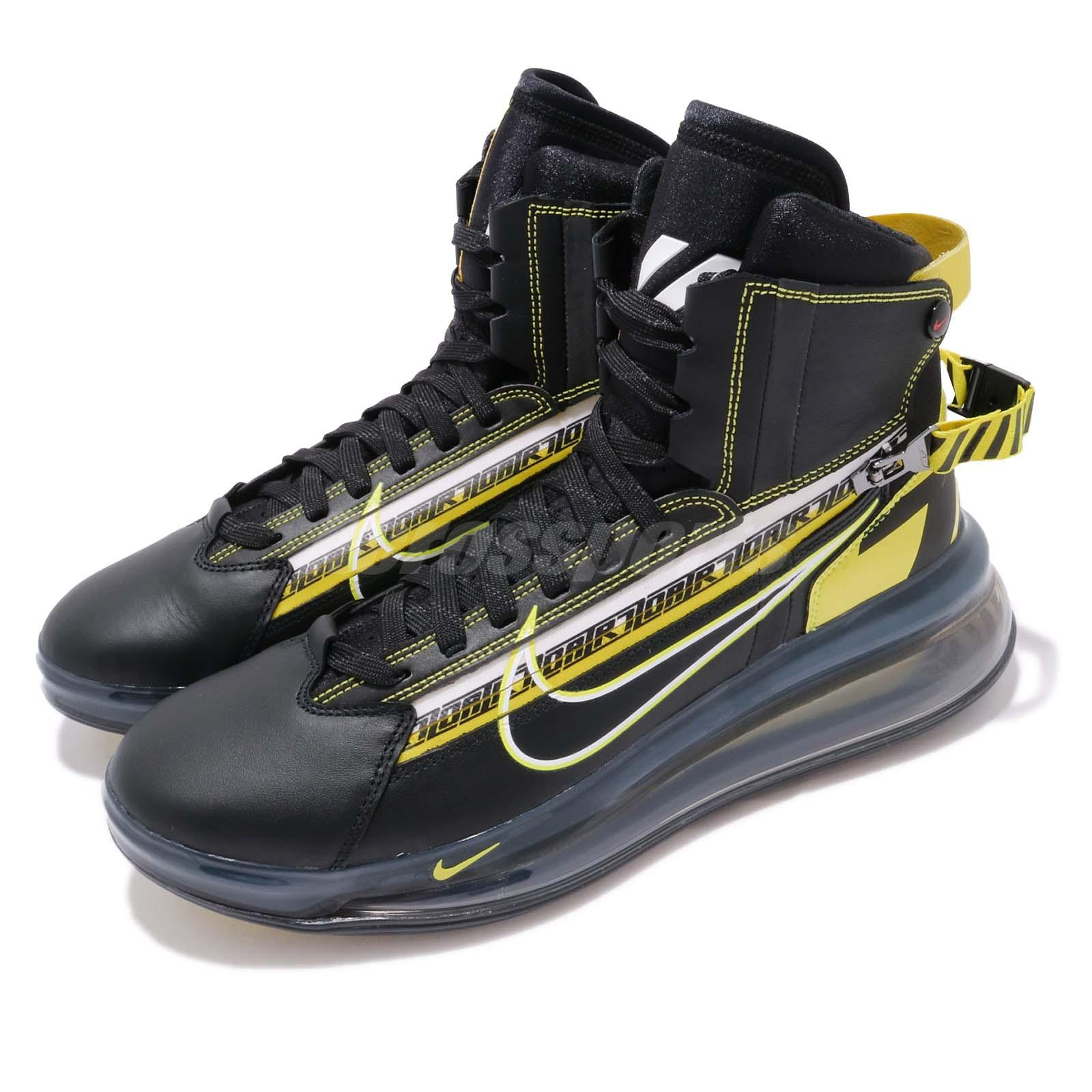 Details about Nike Air Max 720 Saturn AS QS All Star 2019 Motorsport Black Yellow BV7786 001
