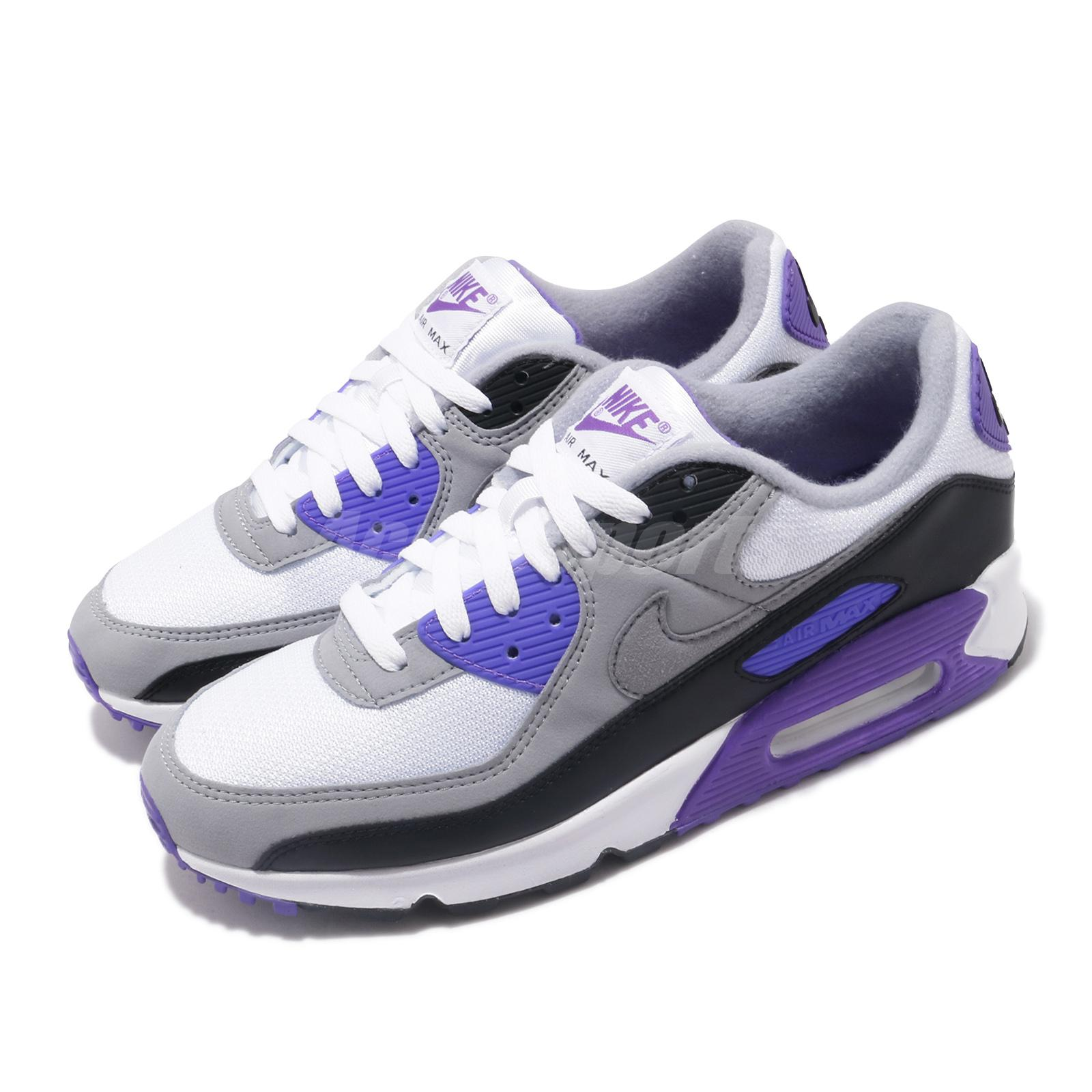 purple and gray nike air max